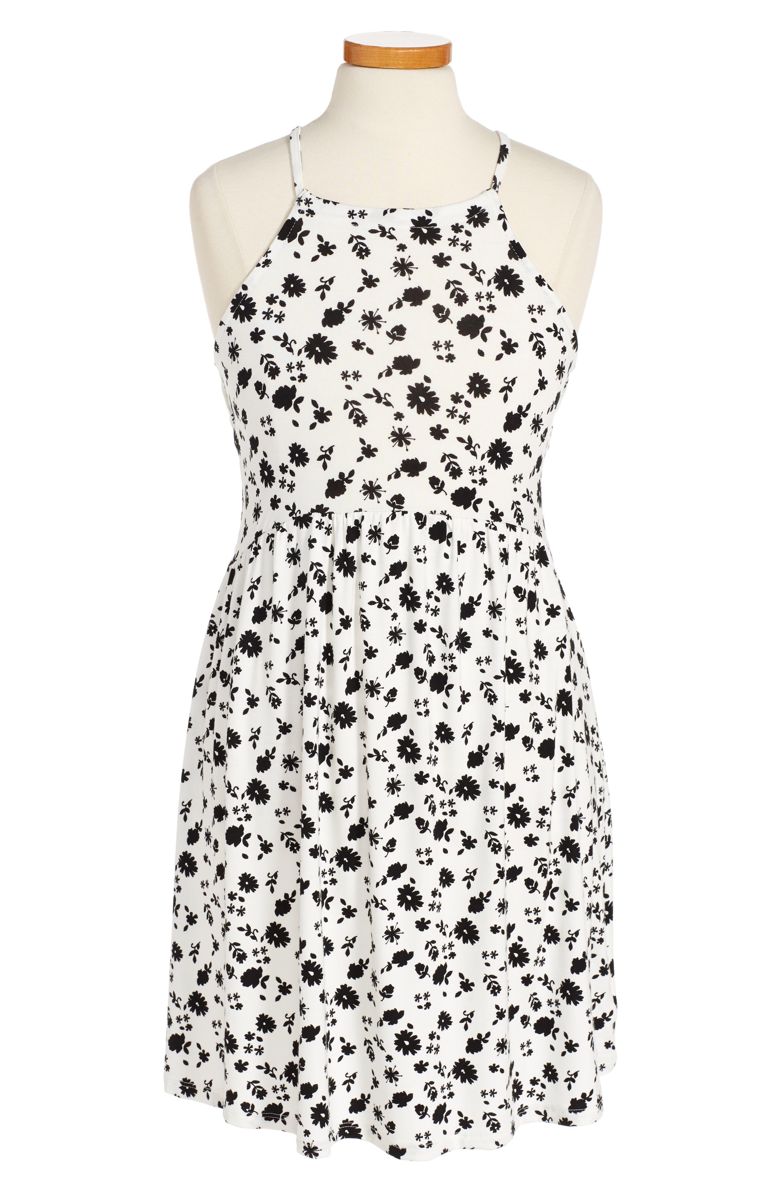 Tucker + Tate Print Sleeveless Dress (Big Girls)