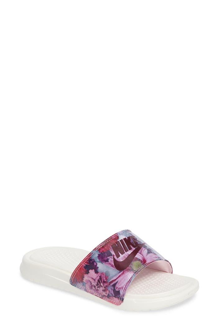 Color Slides Of New York City April 1979: Nike 'Benassi Just Do It Ultra Premium' Slide Sandal
