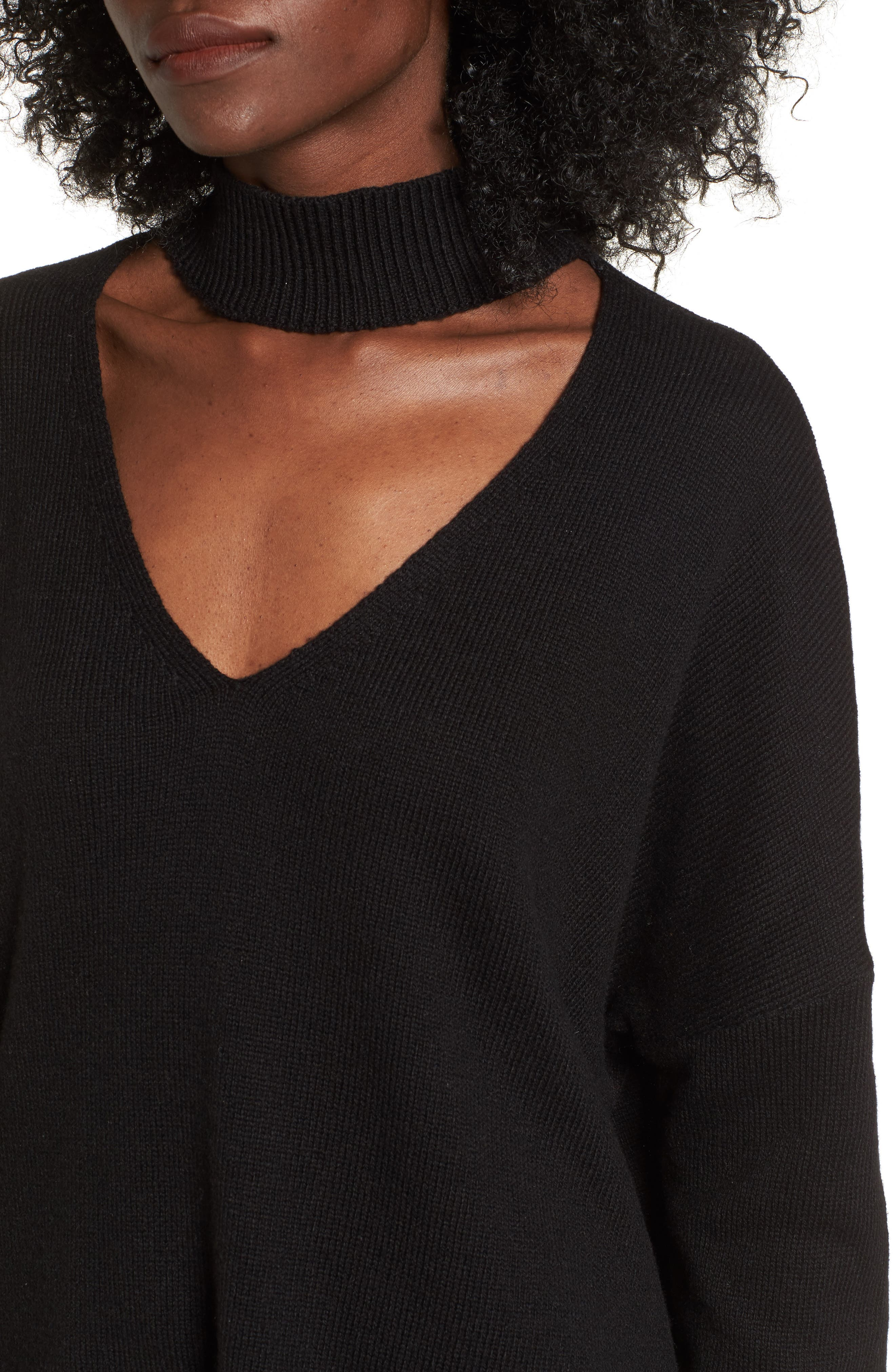 Alternate Image 4  - BP. Cutout Neck Pullover