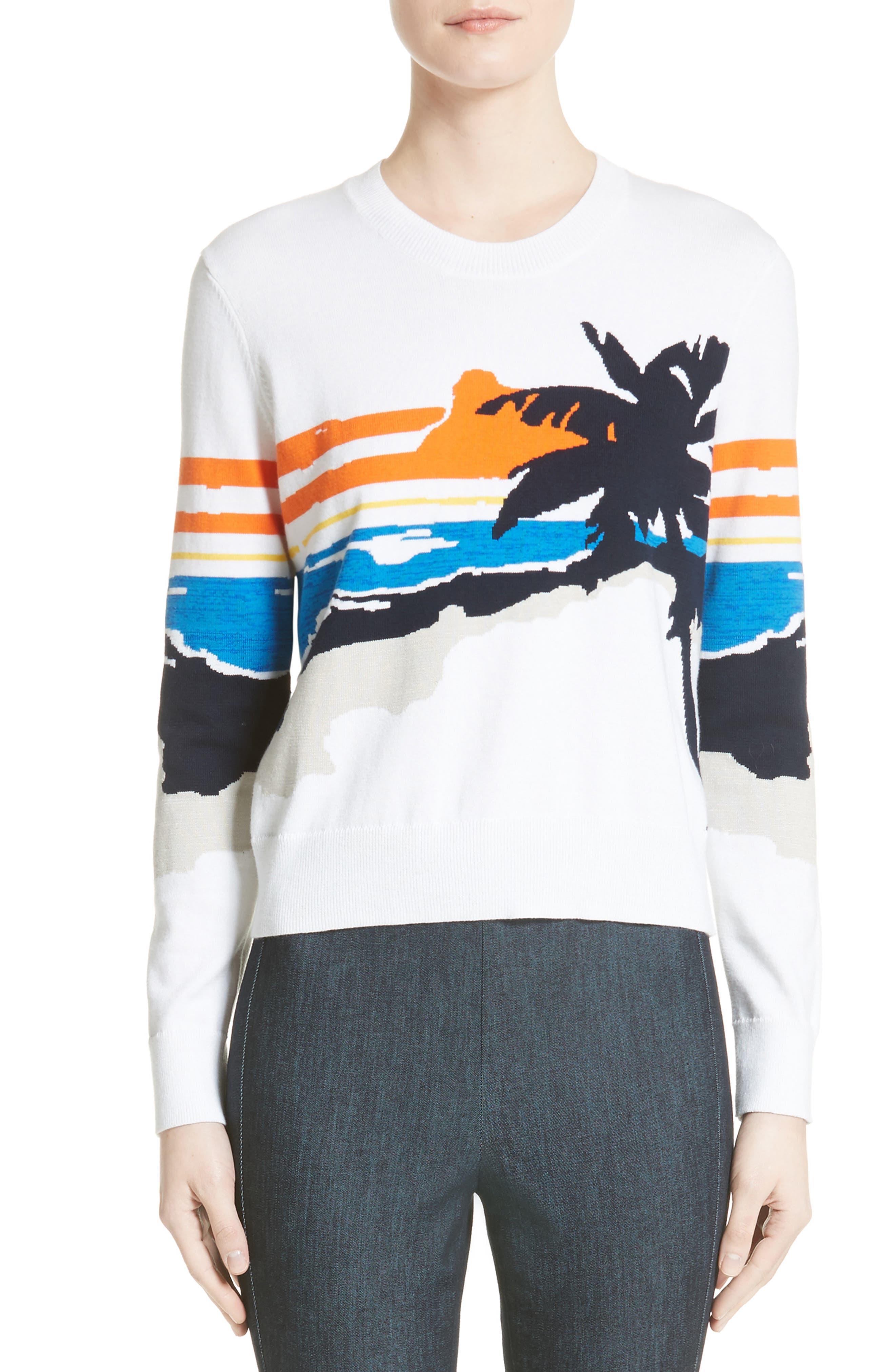 rag & bone Nicki Graphic Pullover