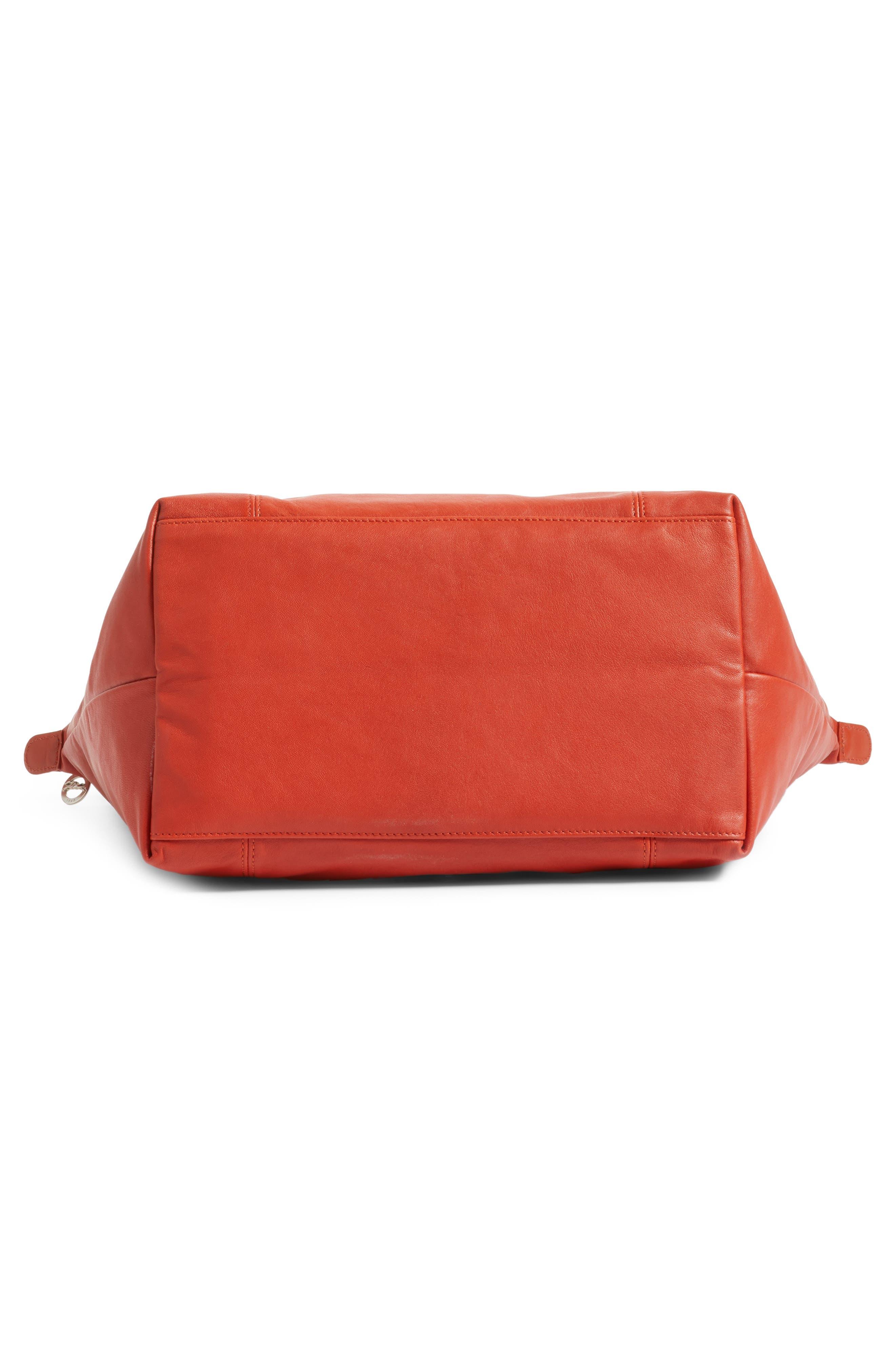 Alternate Image 6  - Longchamp 'Le Pliage Cuir' Leather Tote