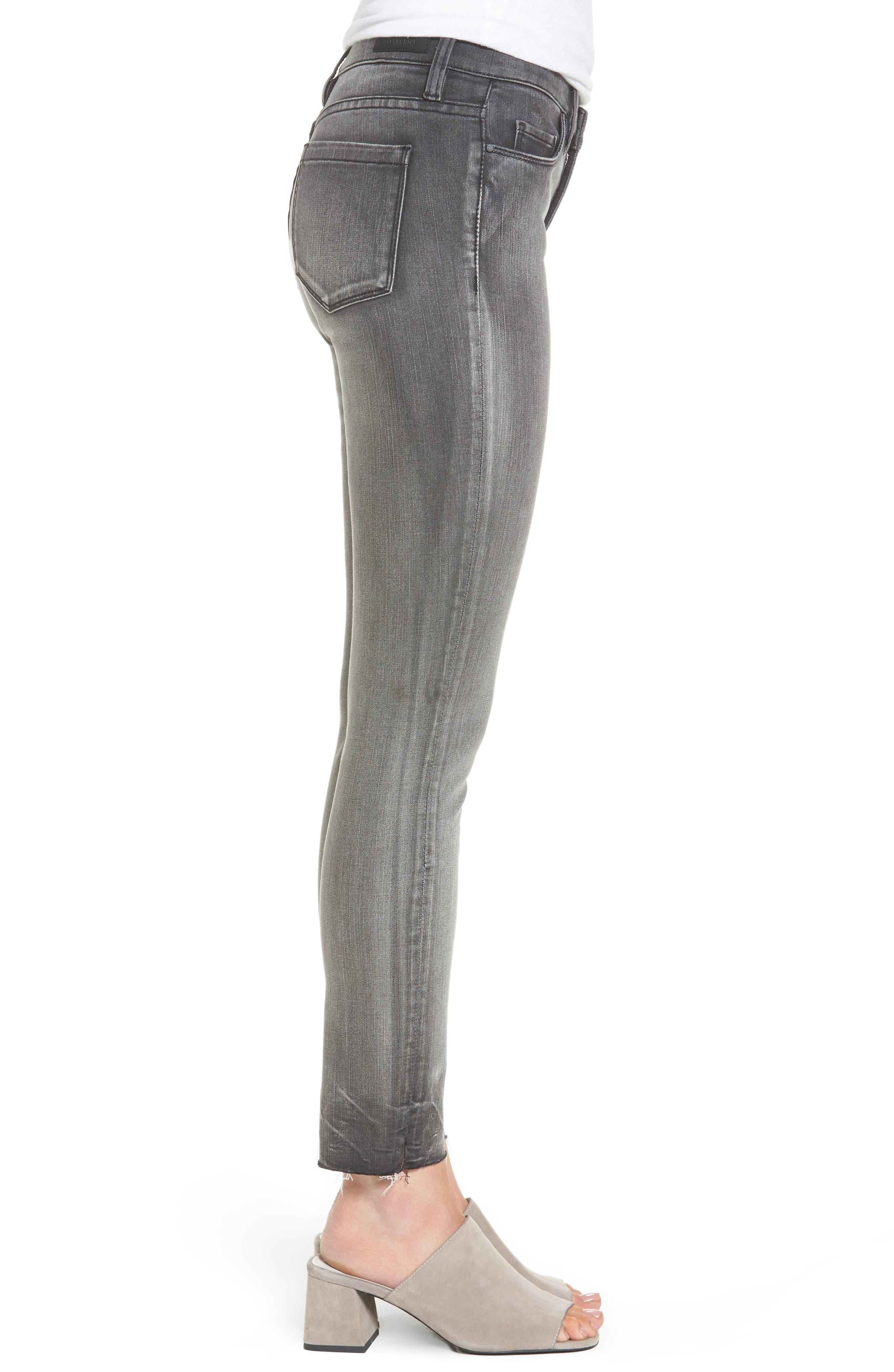 Alternate Image 3  - BLANKNYC Skinny Jeans (Black Metal Dahlia)