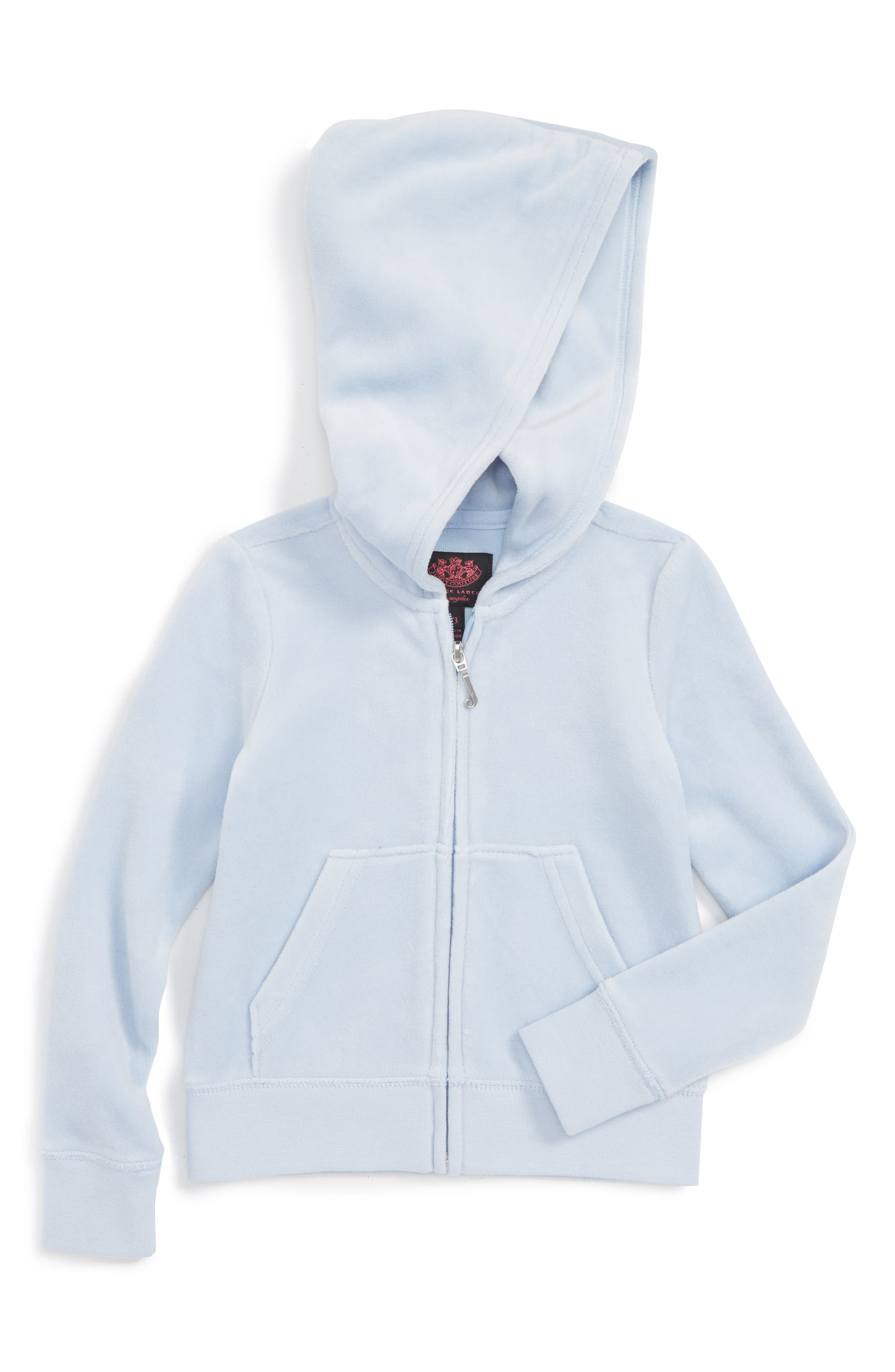 Juicy Couture Robertson Velour Hoodie (Toddler Girls & Little Girls)