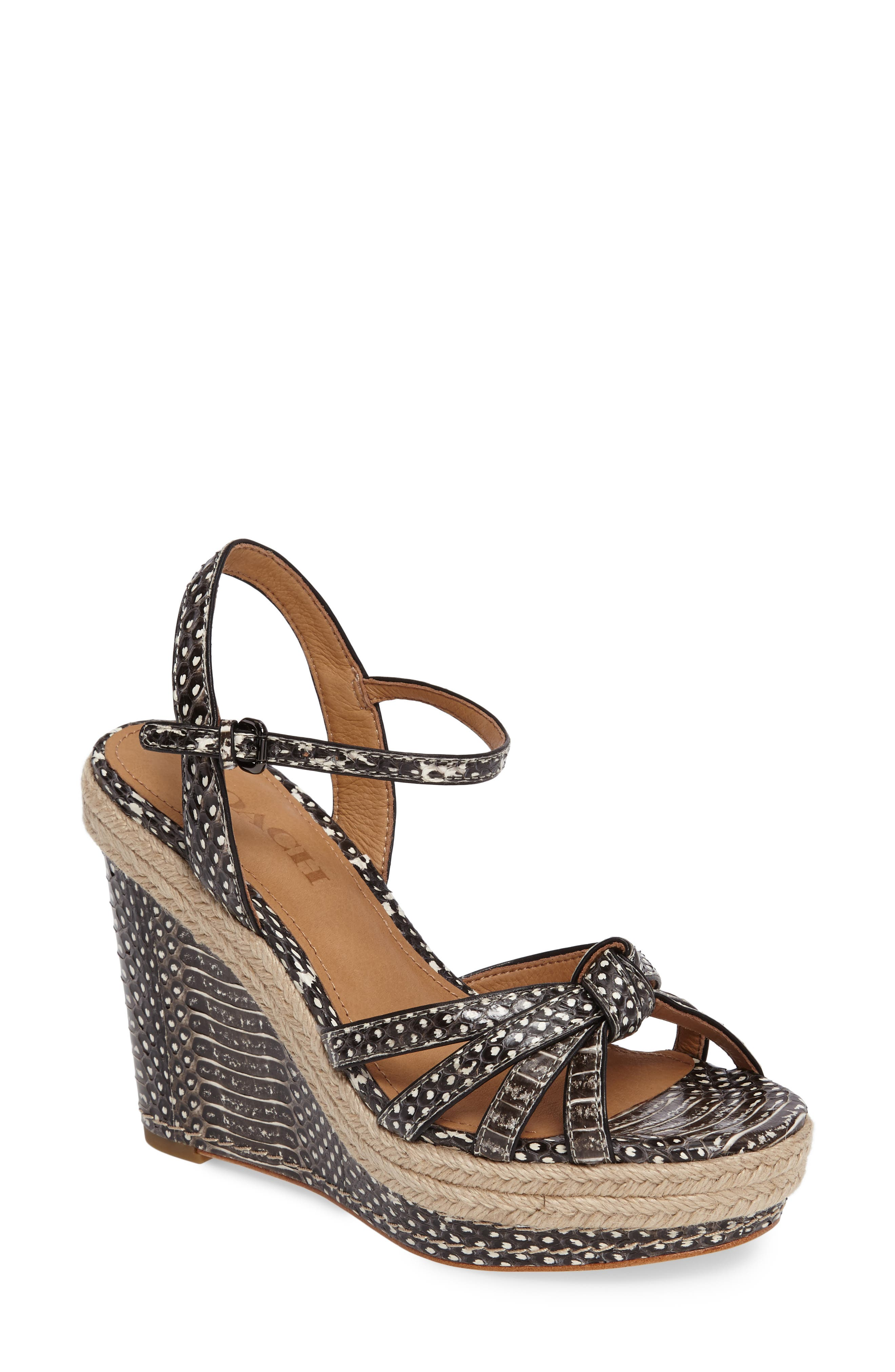 COACH Dalton Espadrille Wedge Sandal (Women)