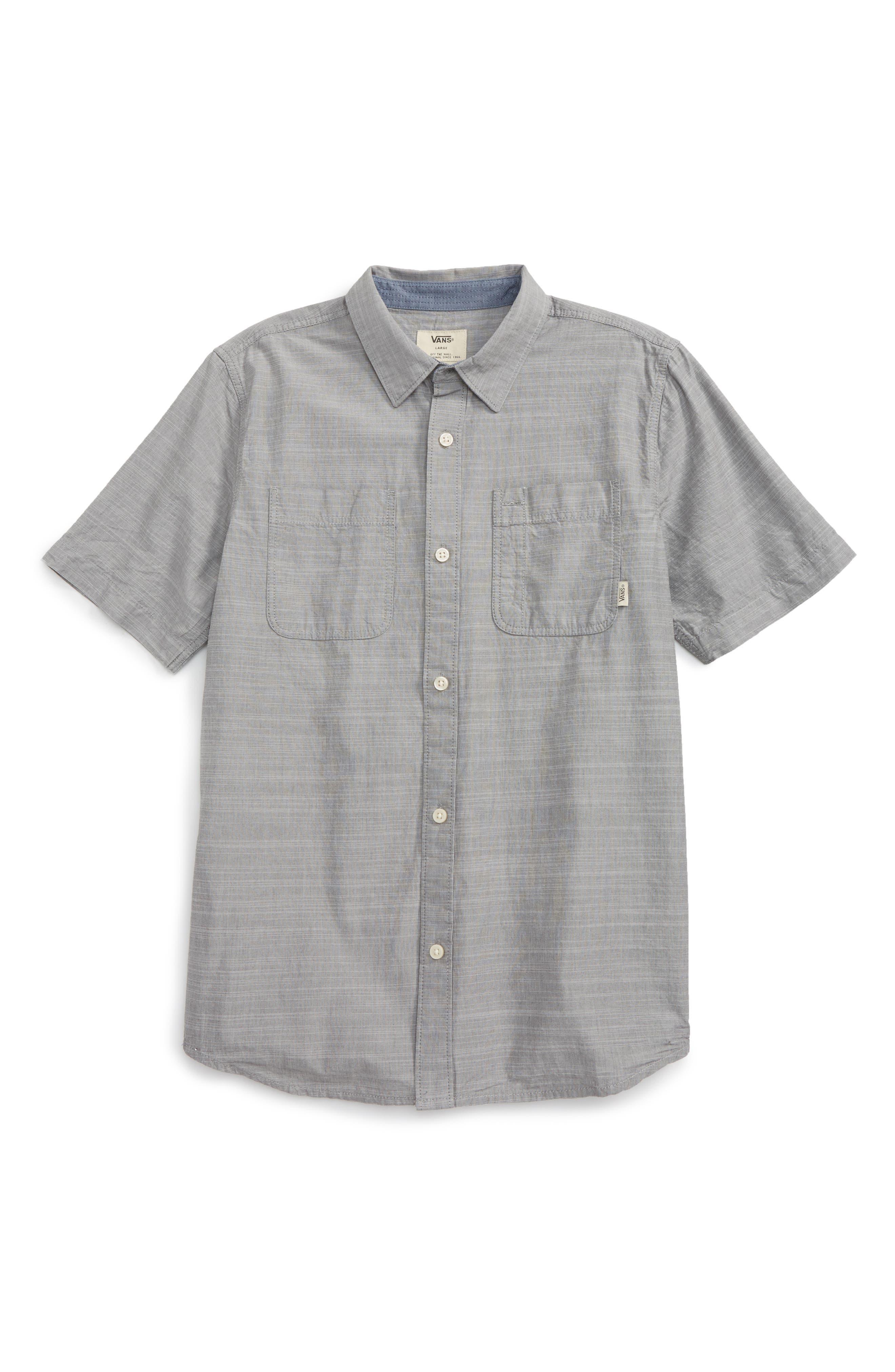 Vans Guilder IV Woven Shirt (Big Boys)