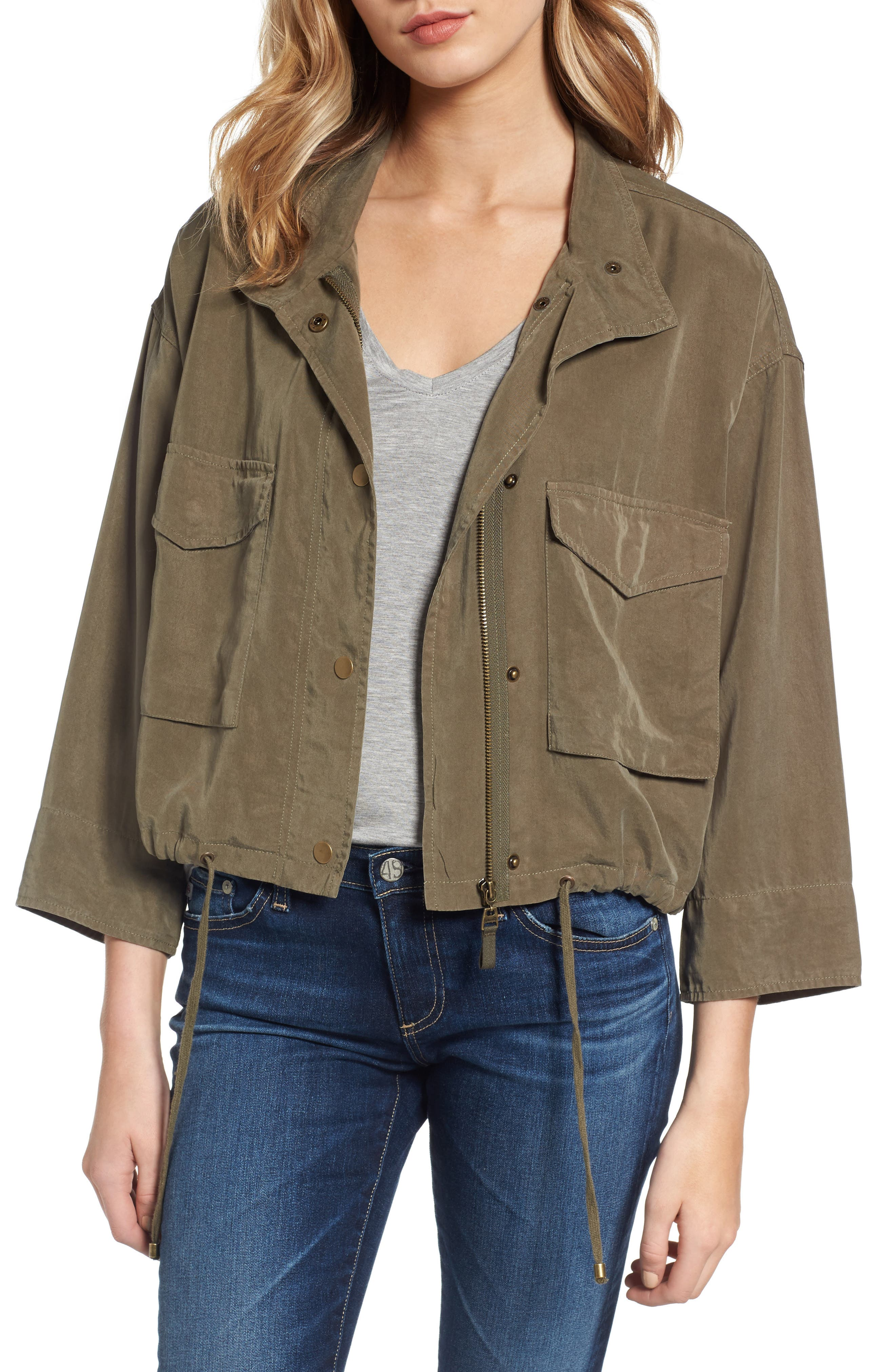 Splendid Crop Military Jacket