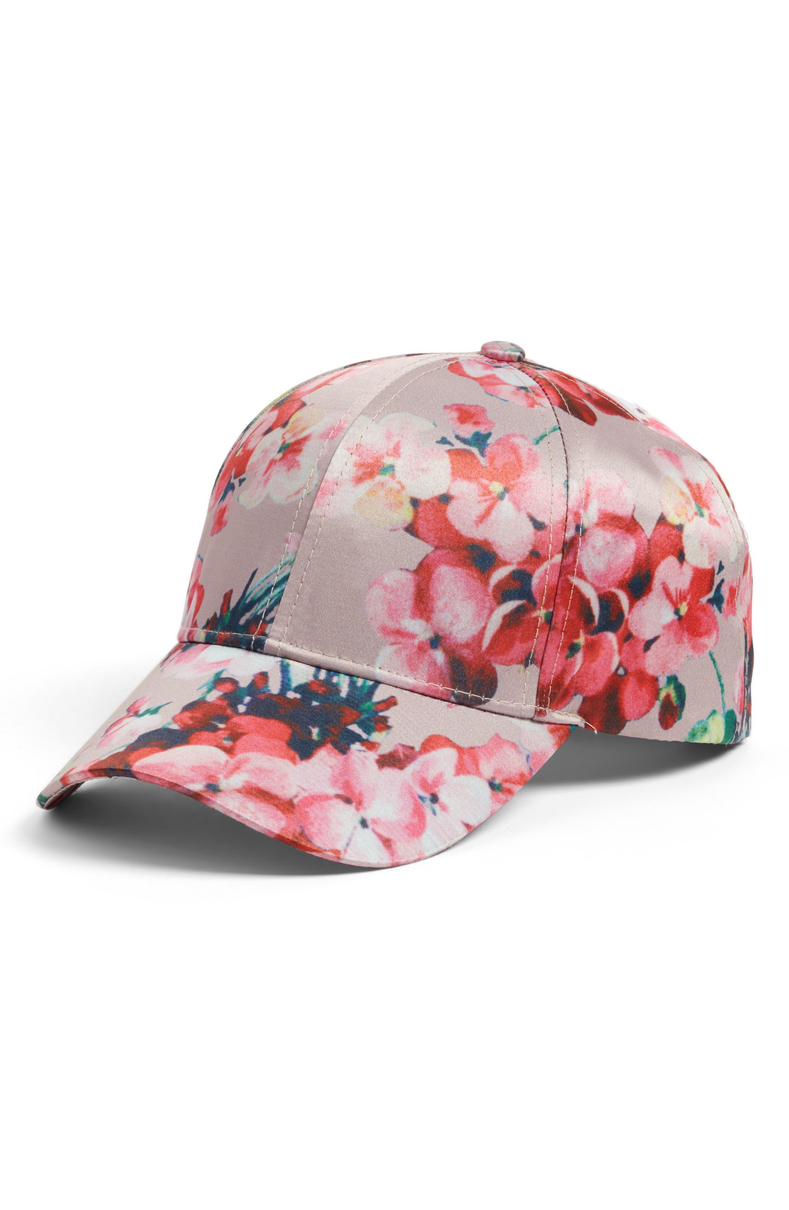 Collection XIIX Floral Print Baseball Cap