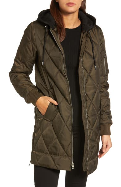 Nordstrom Anniversary Sale - Vince Camuto Quilted Jacket with Detachable Hood