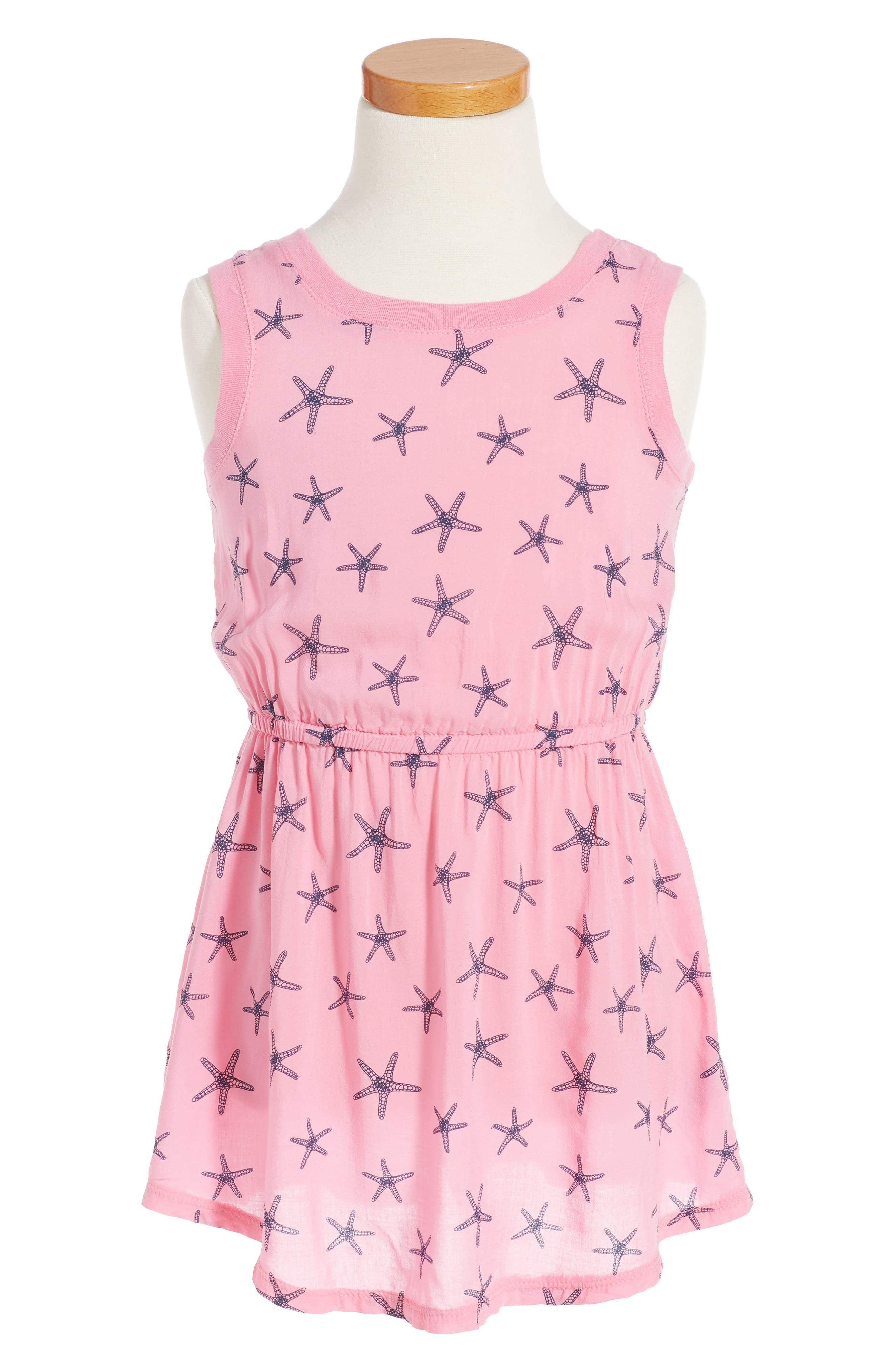 Splendid Starfish Print Dress (Little Girls)