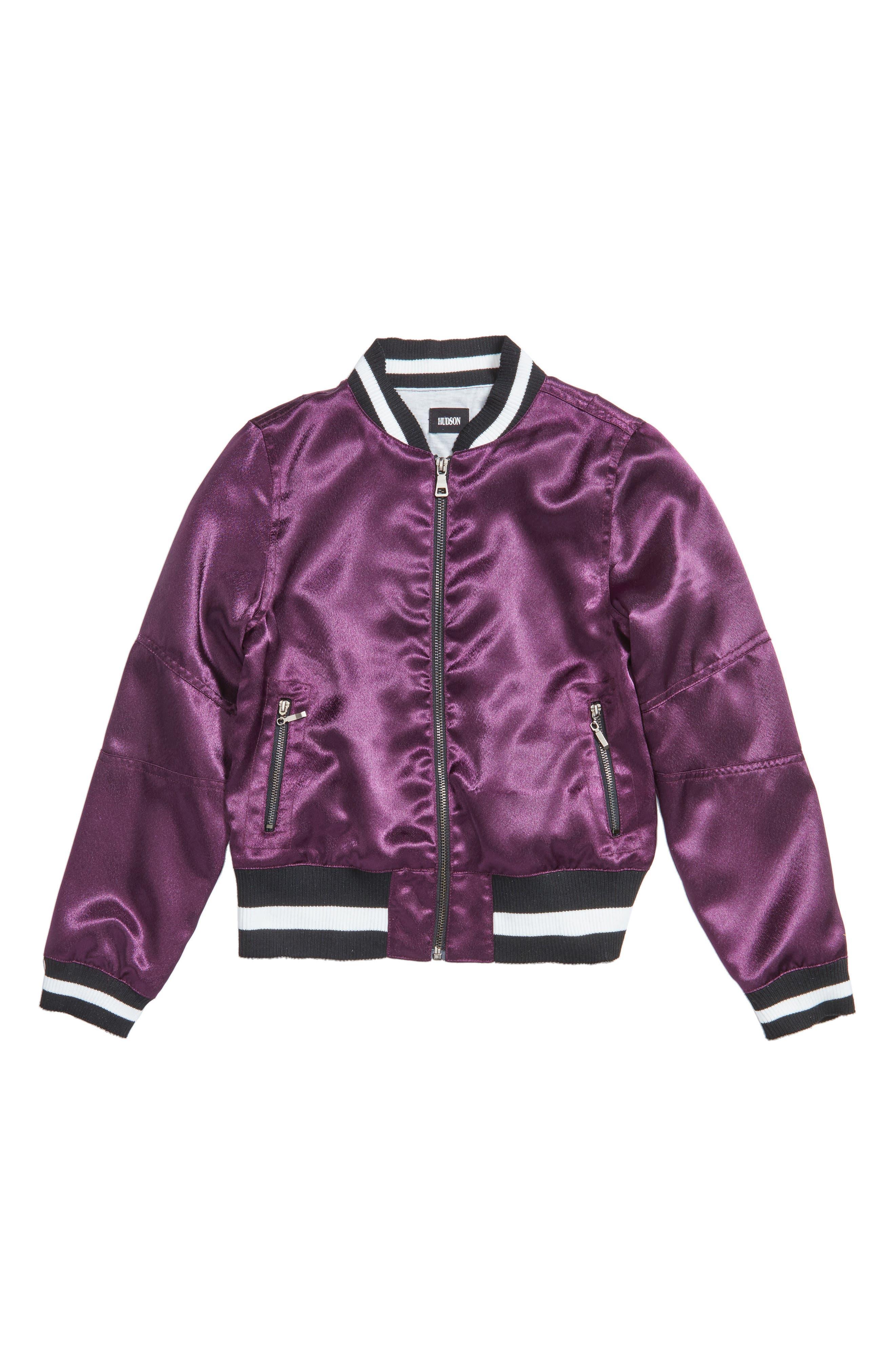 Hudson Kids Bomber Jacket (Big Girls)