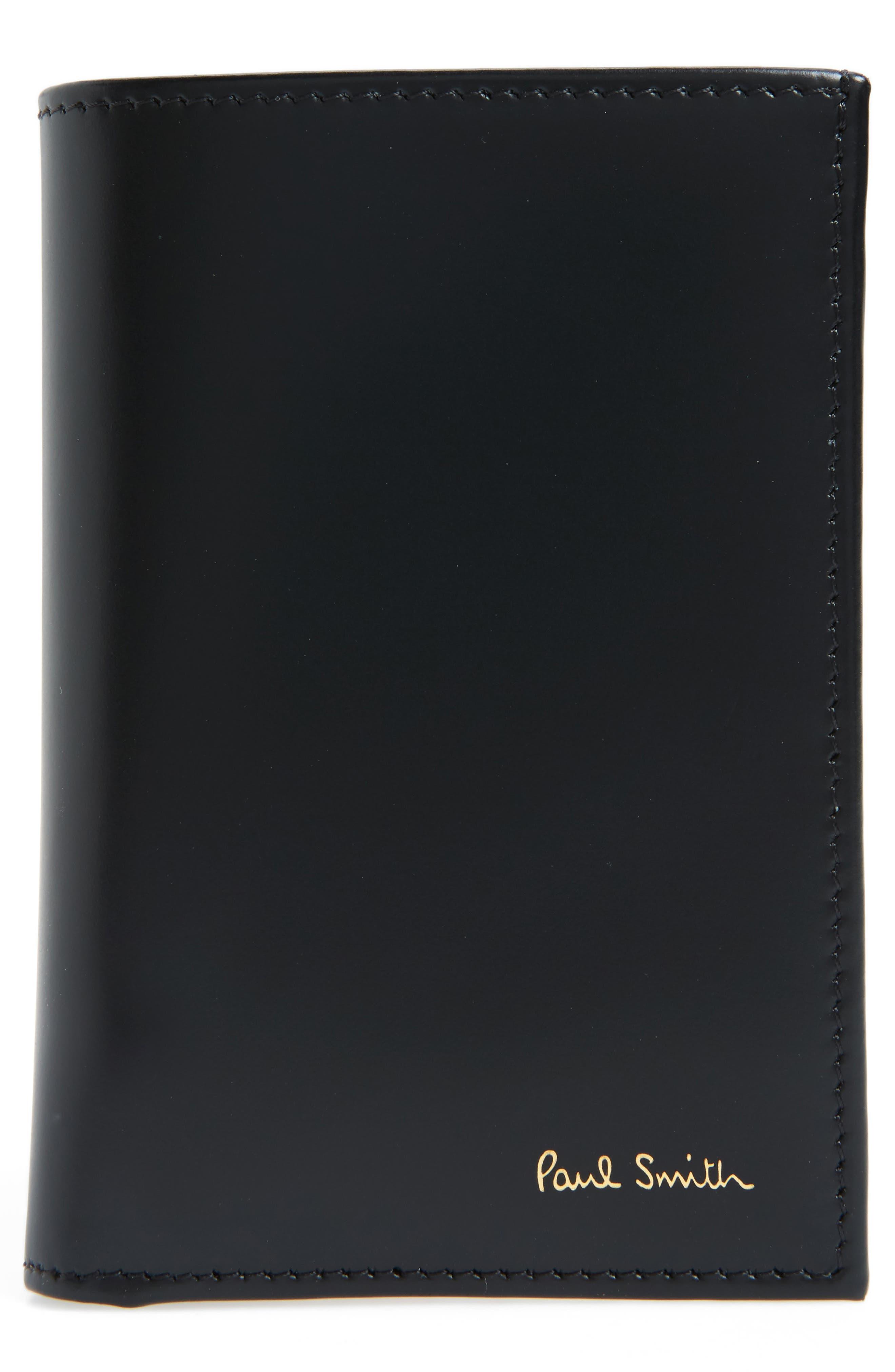 Paul Smith Multistripe Leather Wallet