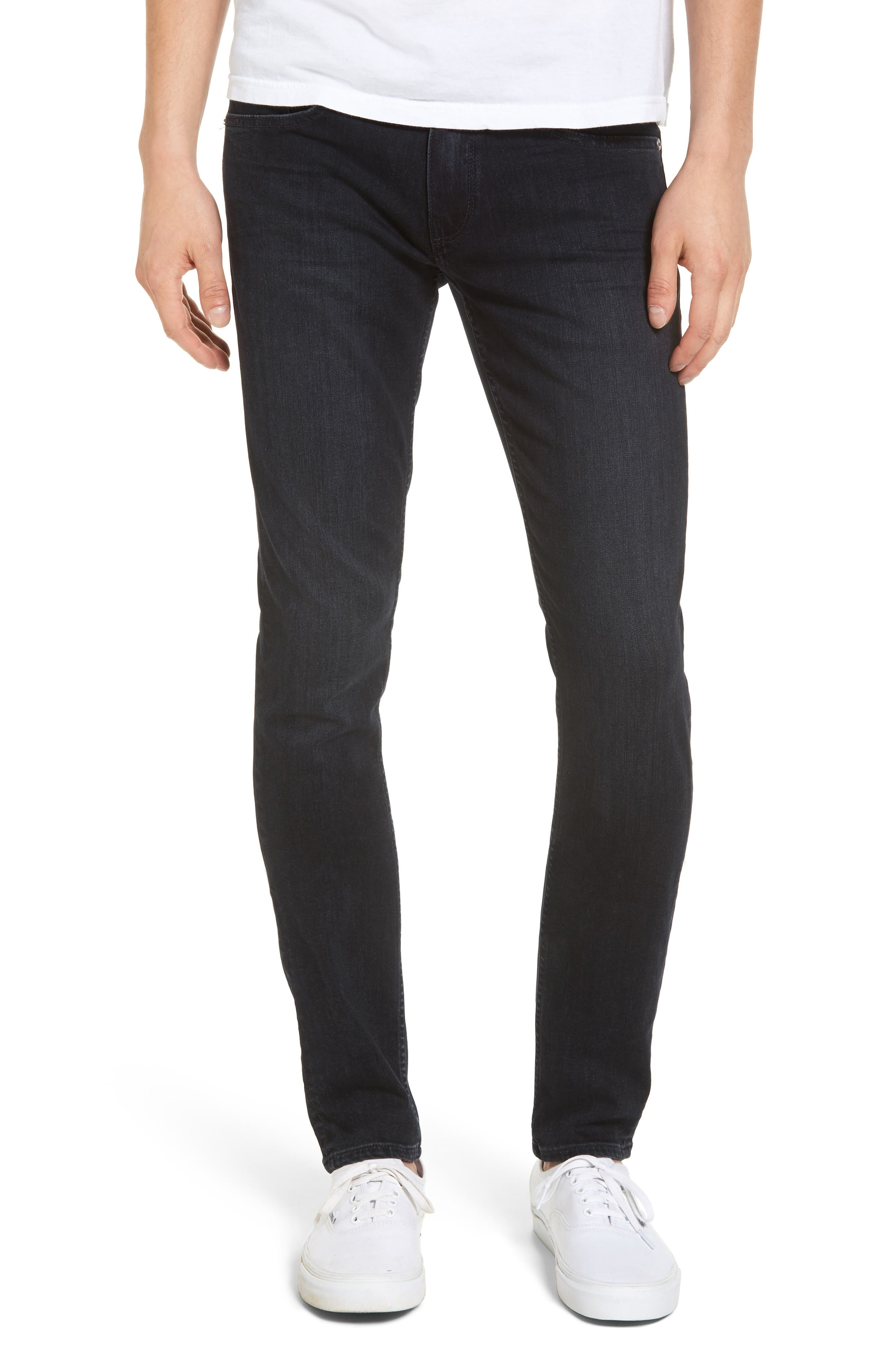 PAIGE Transcend - Croft Skinny Fit Jeans (Boomer)