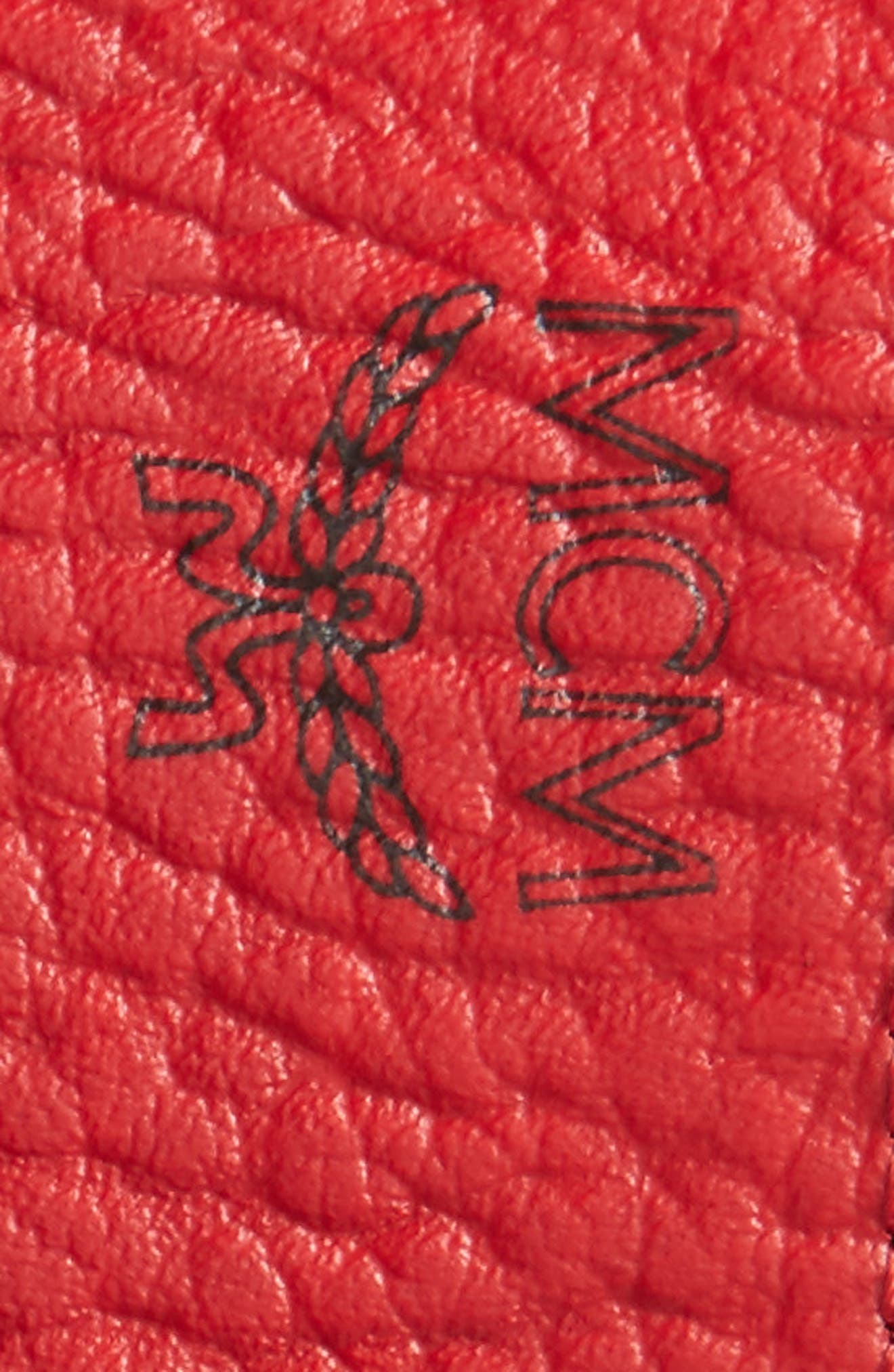 Alternate Image 3  - MCM Reversible Signature Leather Belt