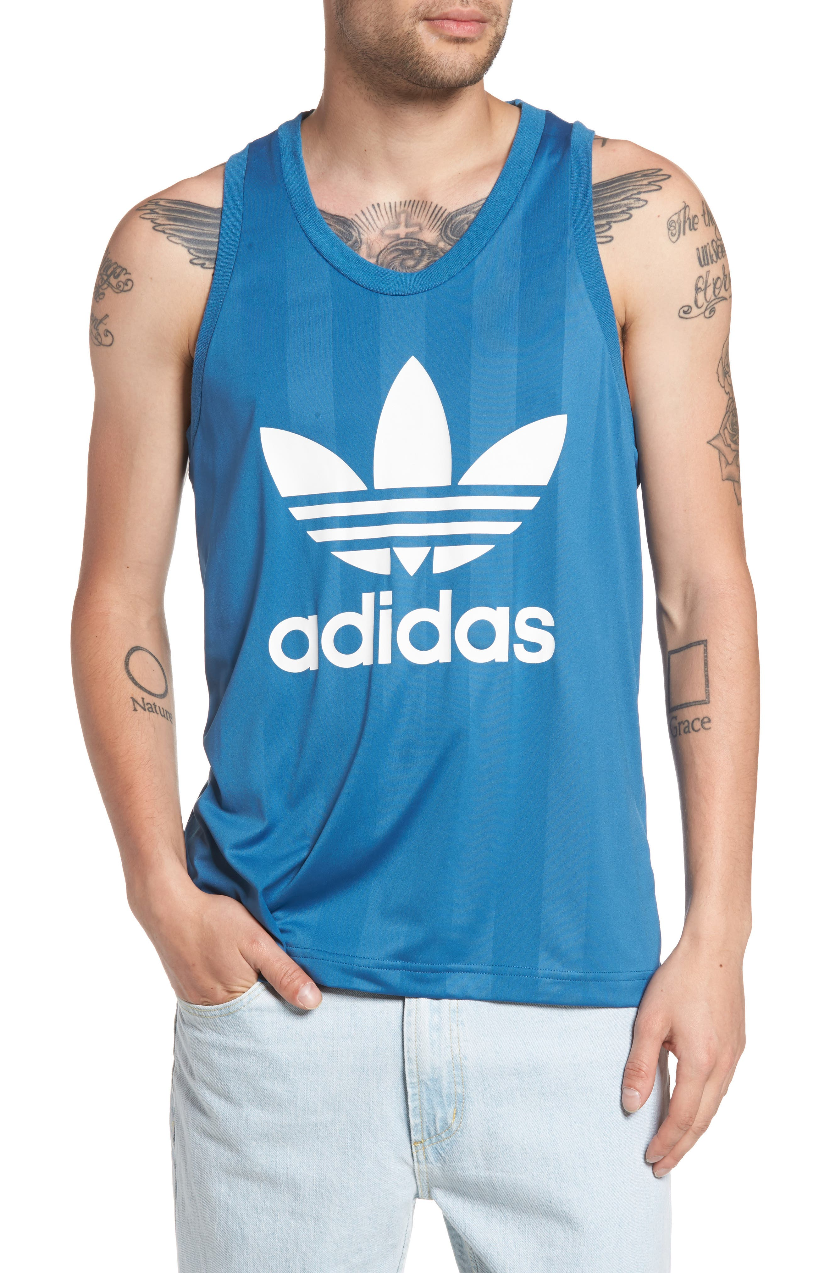 adidas Originals Trefoil Graphic Tank