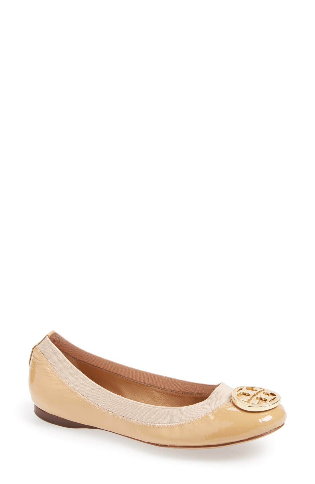 Alternate Image 1 Selected - Tory Burch 'Caroline' Ballerina Flat (Women)
