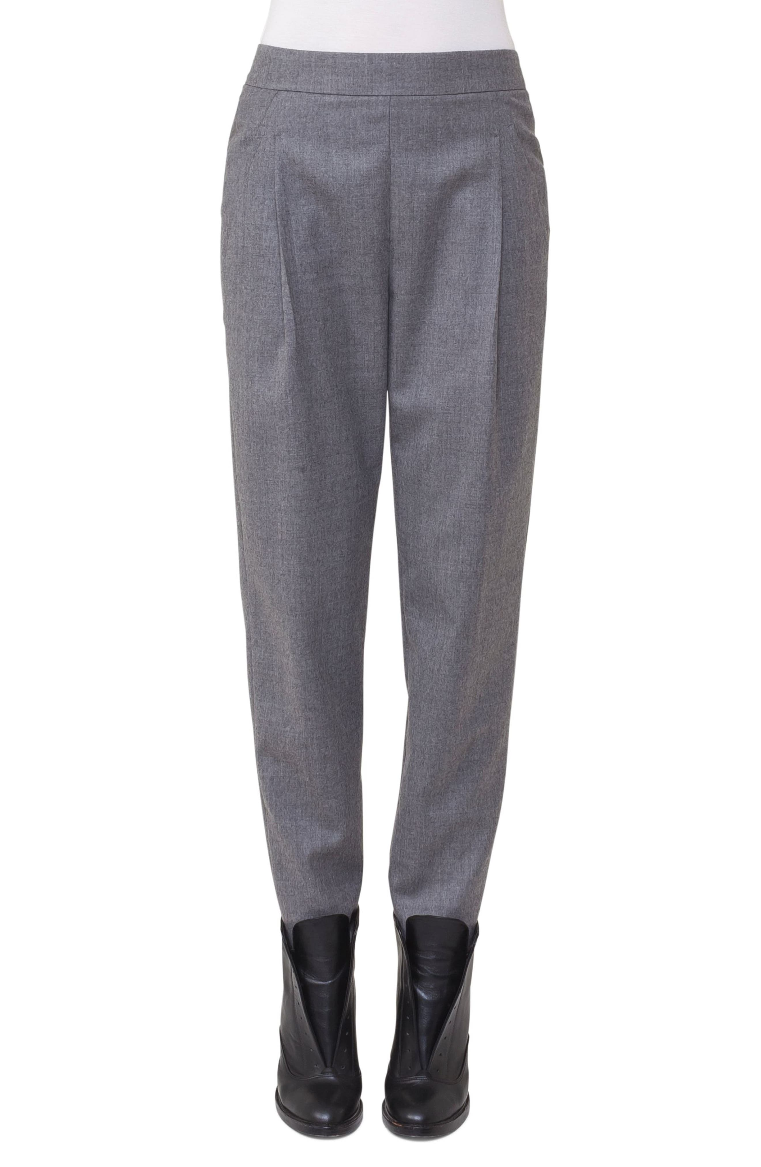Akris punto Fiola Wool Slouch Pants