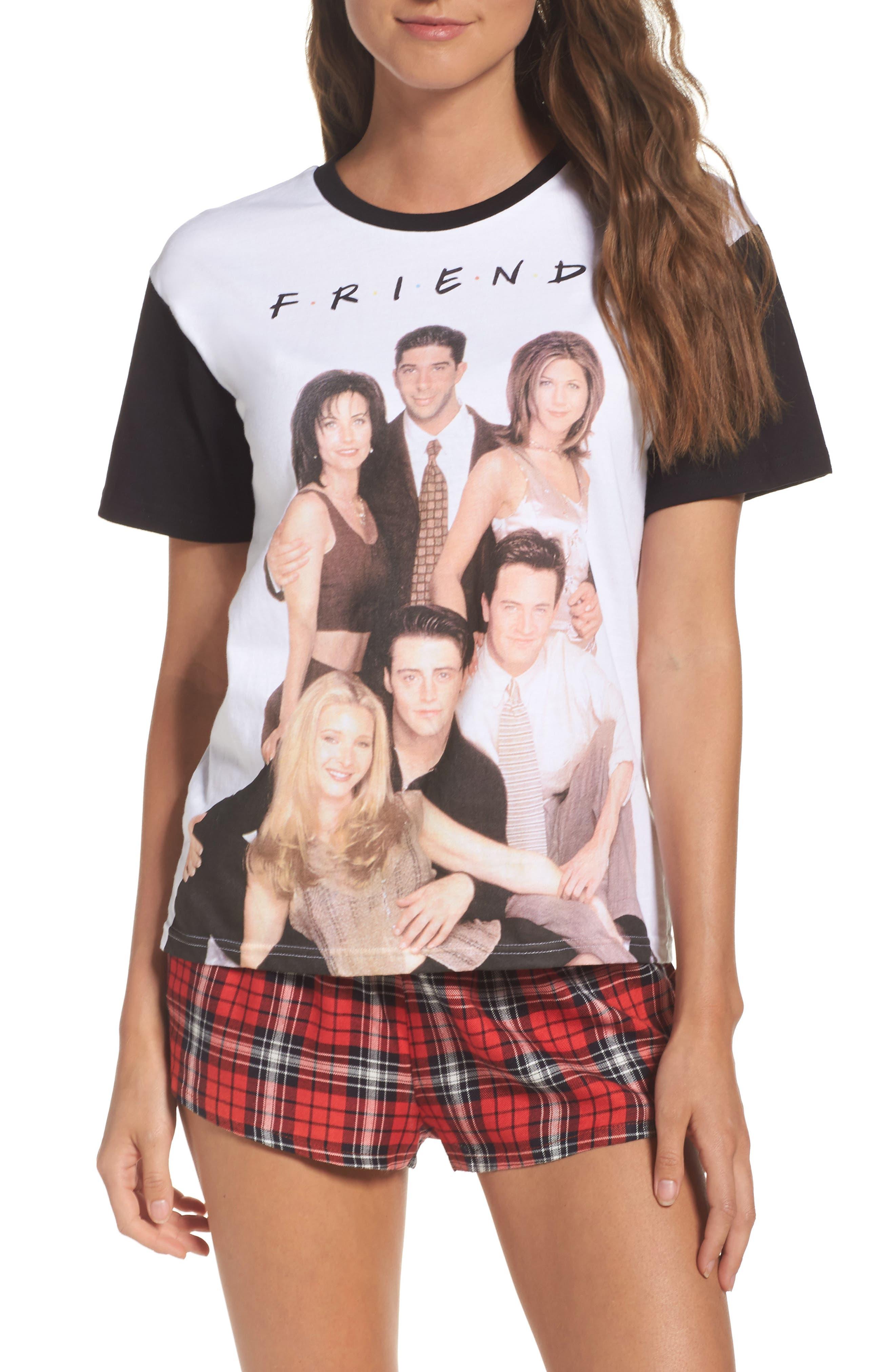 Topshop Friends Short Pajamas