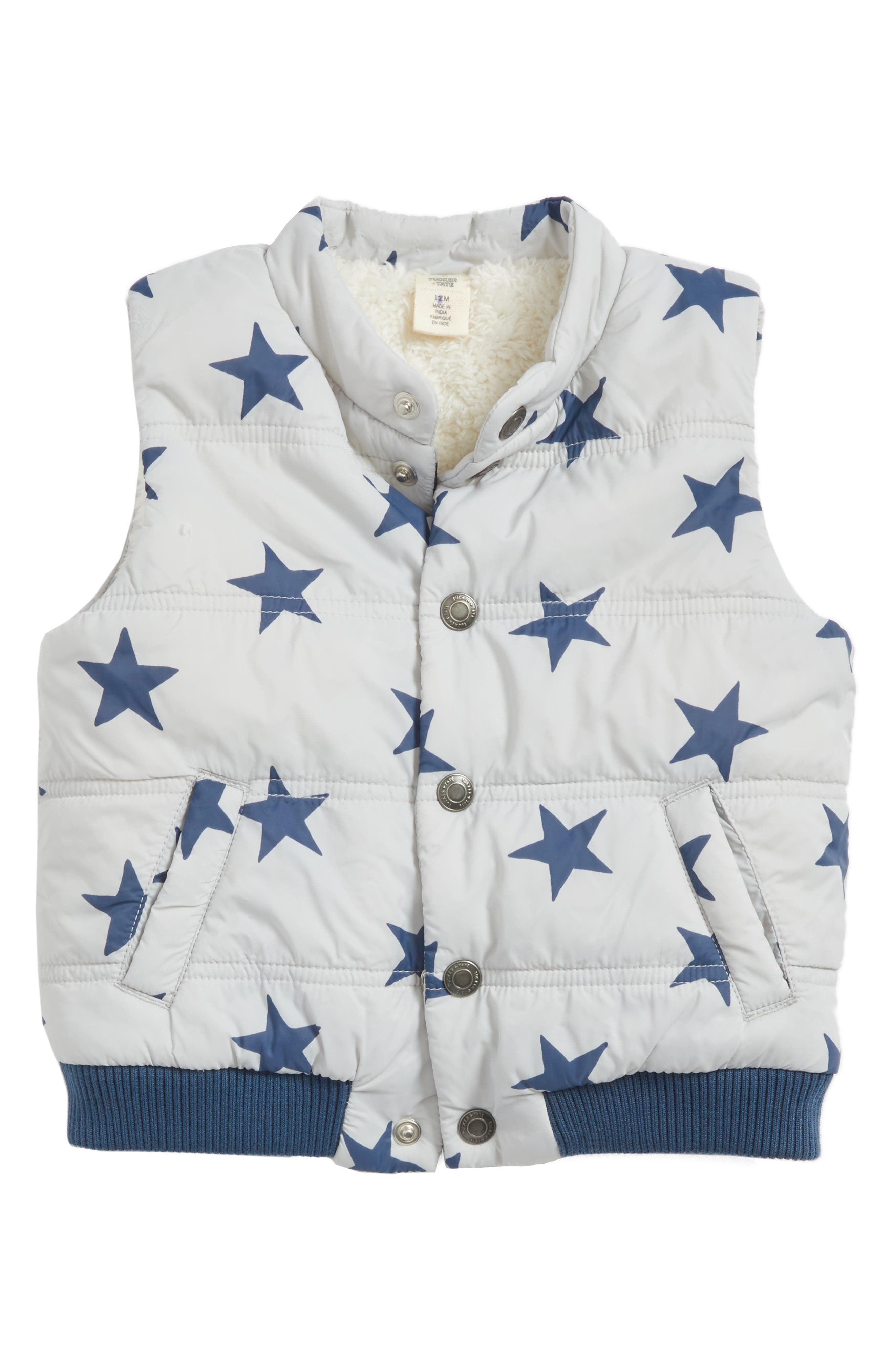 Tucker + Tate Quilted Puffer Vest (Baby Boys)