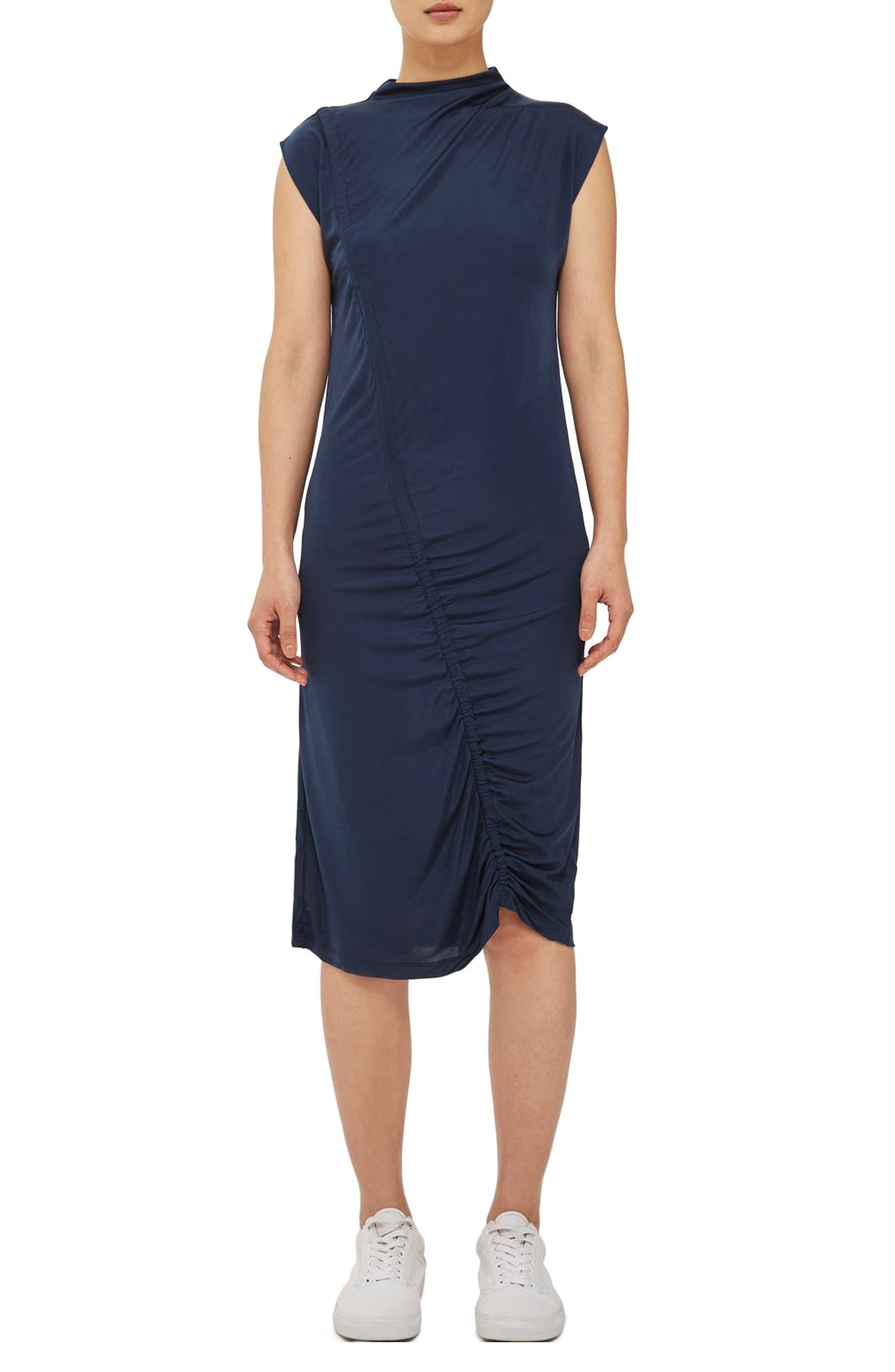 Topshop Boutique Ruched Dress