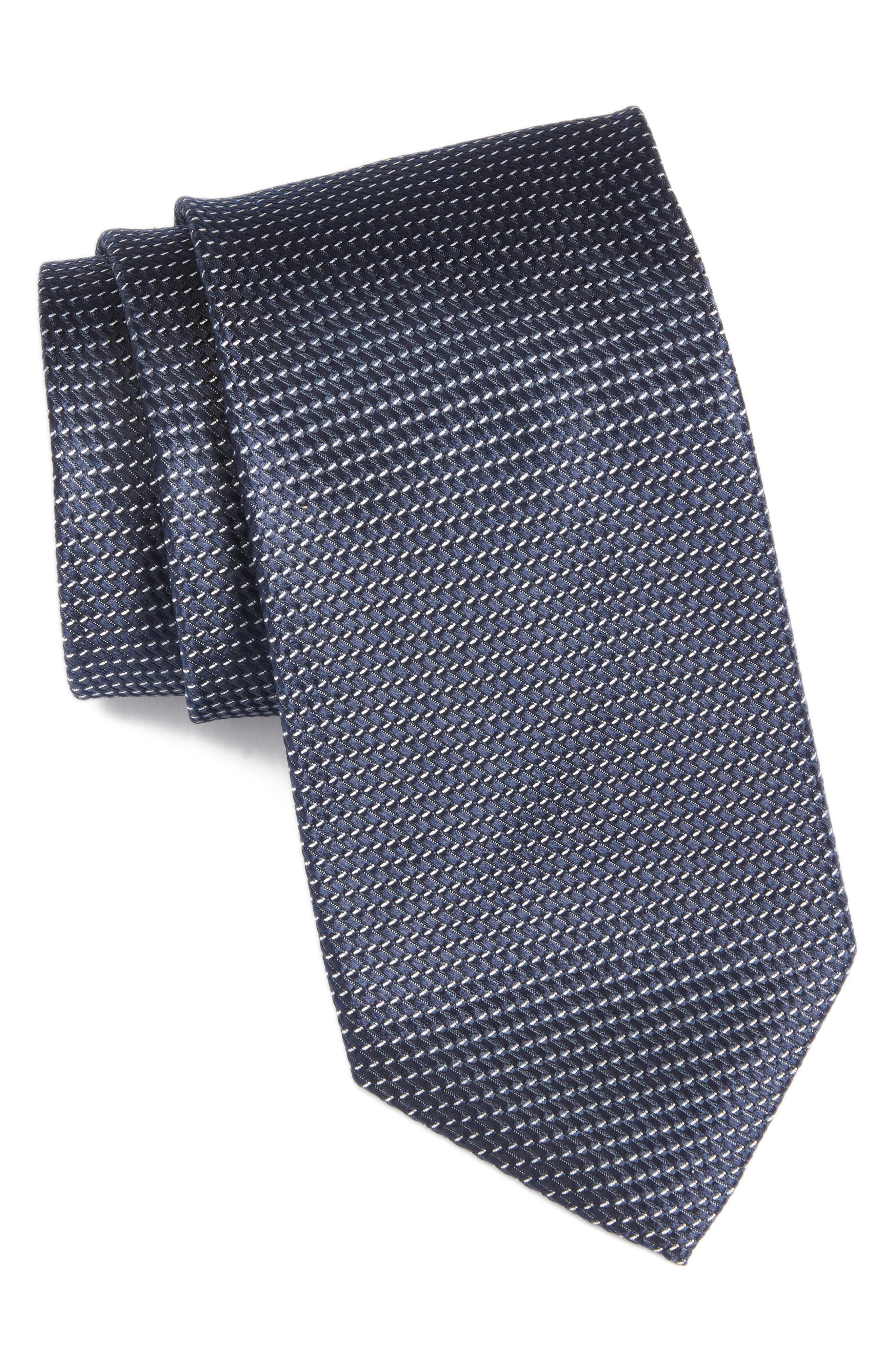 Nordstrom Men's Shop Chiana Mini Silk Tie (X-Long)