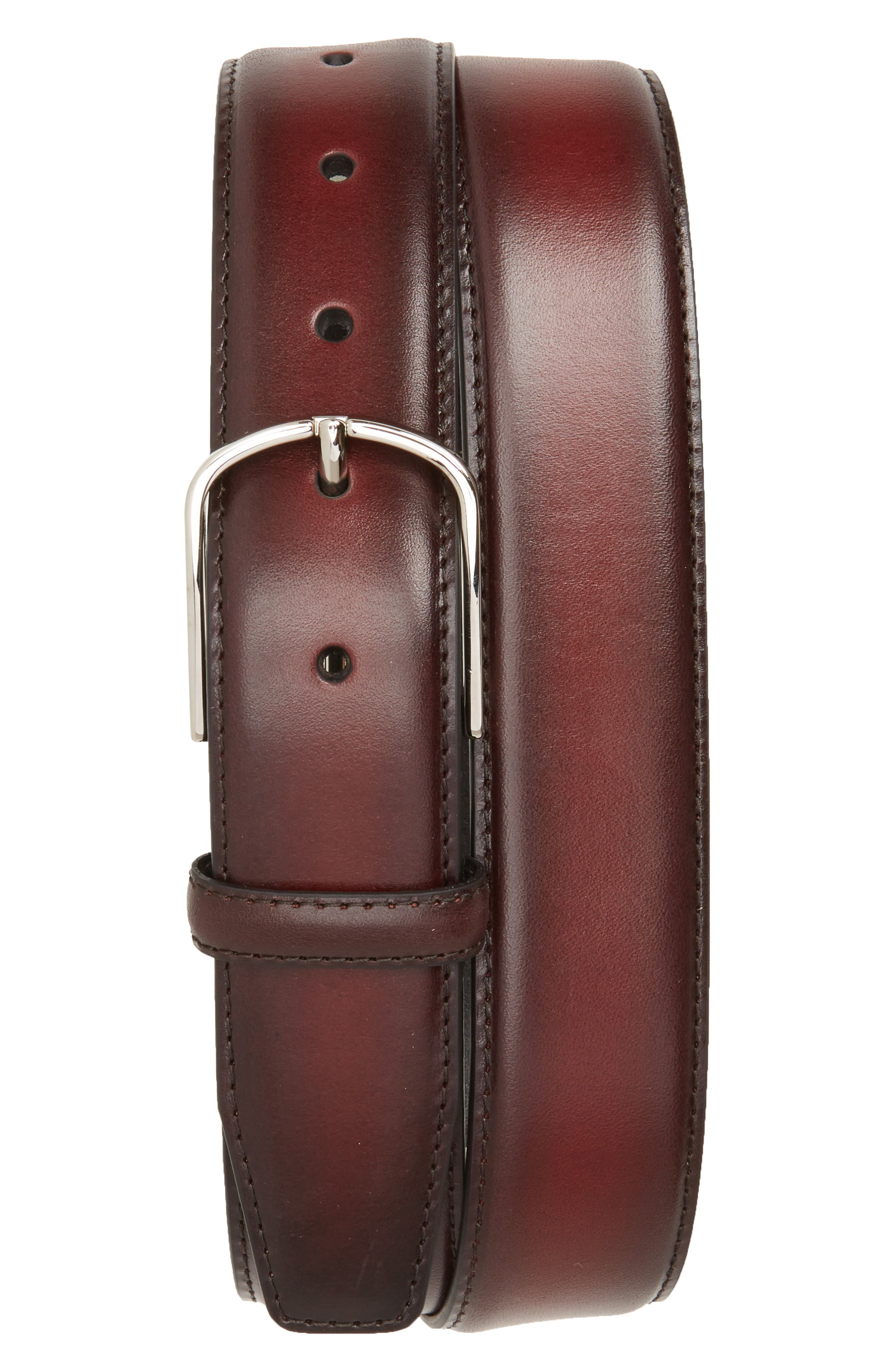 Canali Hand Buffed Calfskin Belt