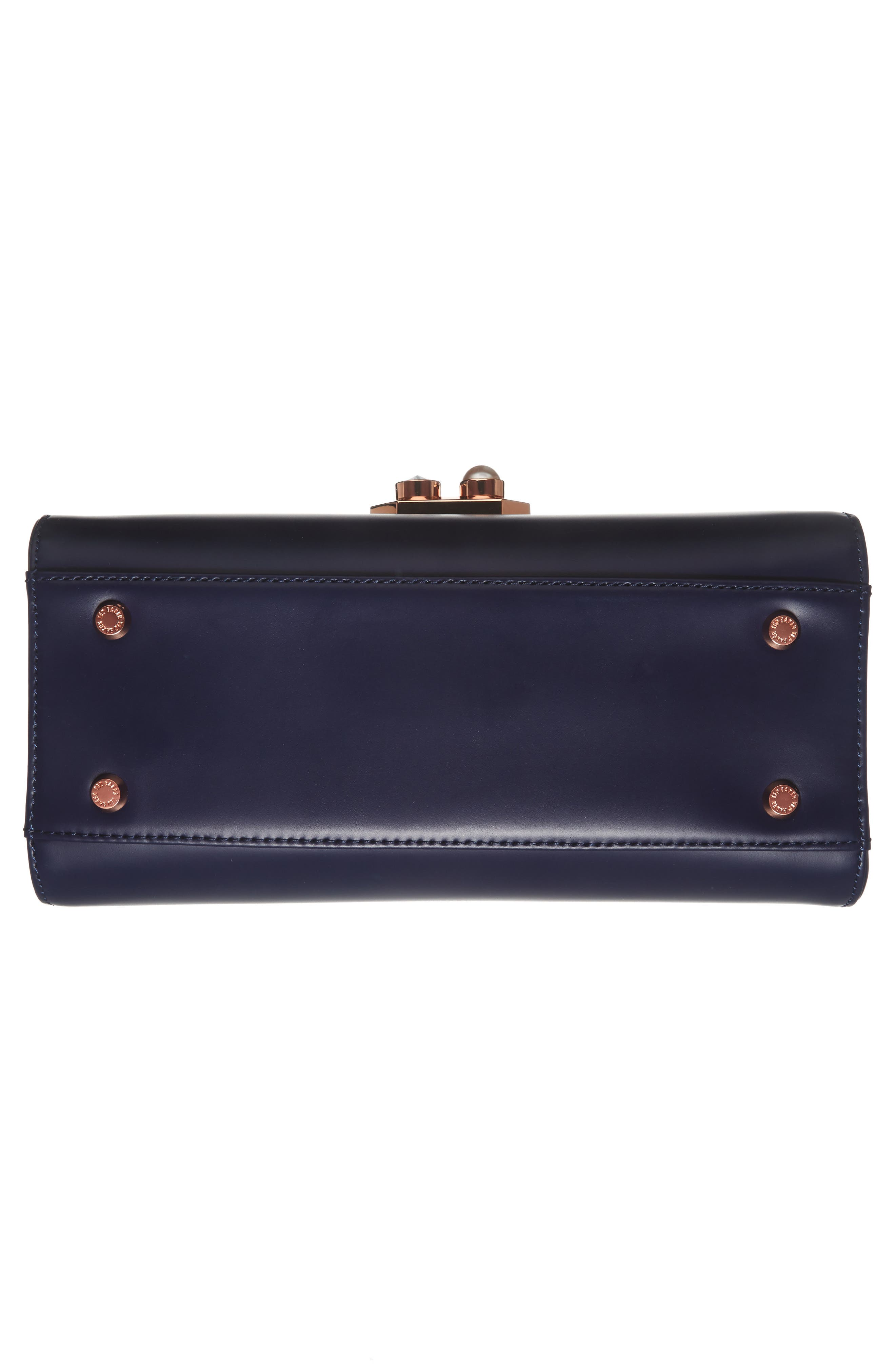 Alternate Image 5  - Ted Baker London Leather Top Handle Satchel