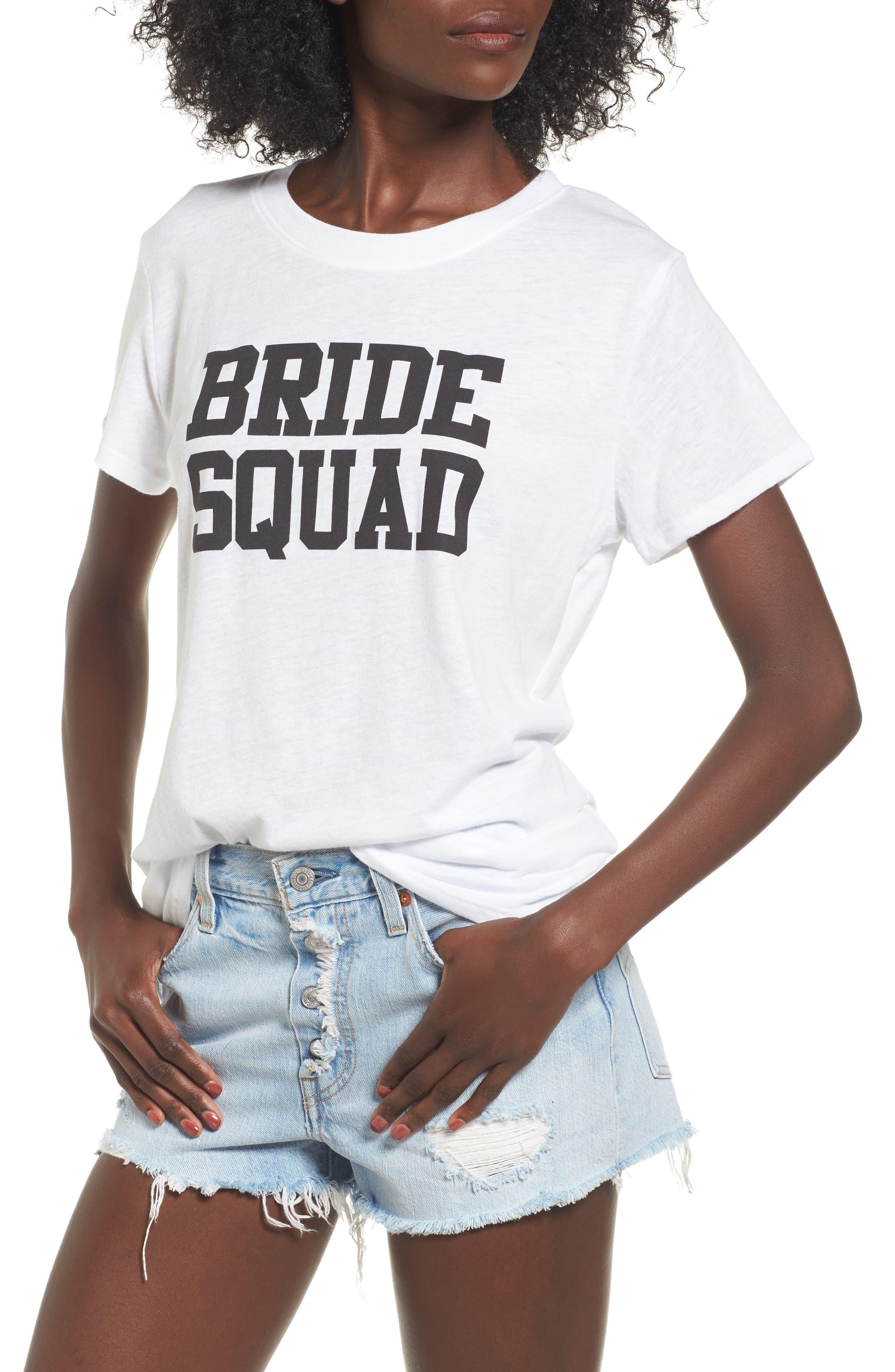 Sub_Urban Riot Bride Squad Graphic Tee
