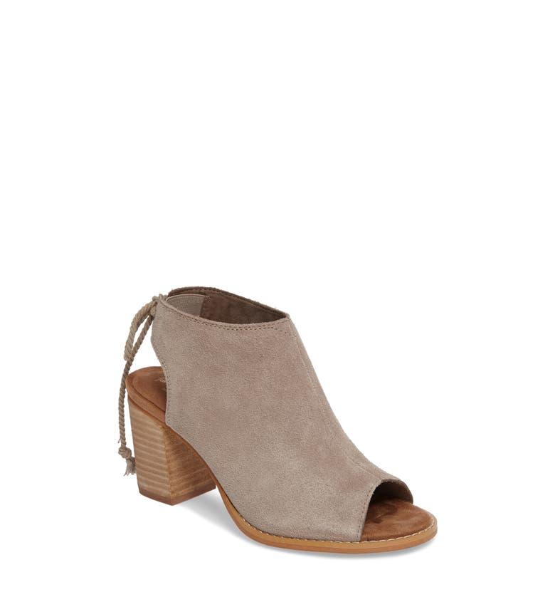 Peep Toe Shoe For Men