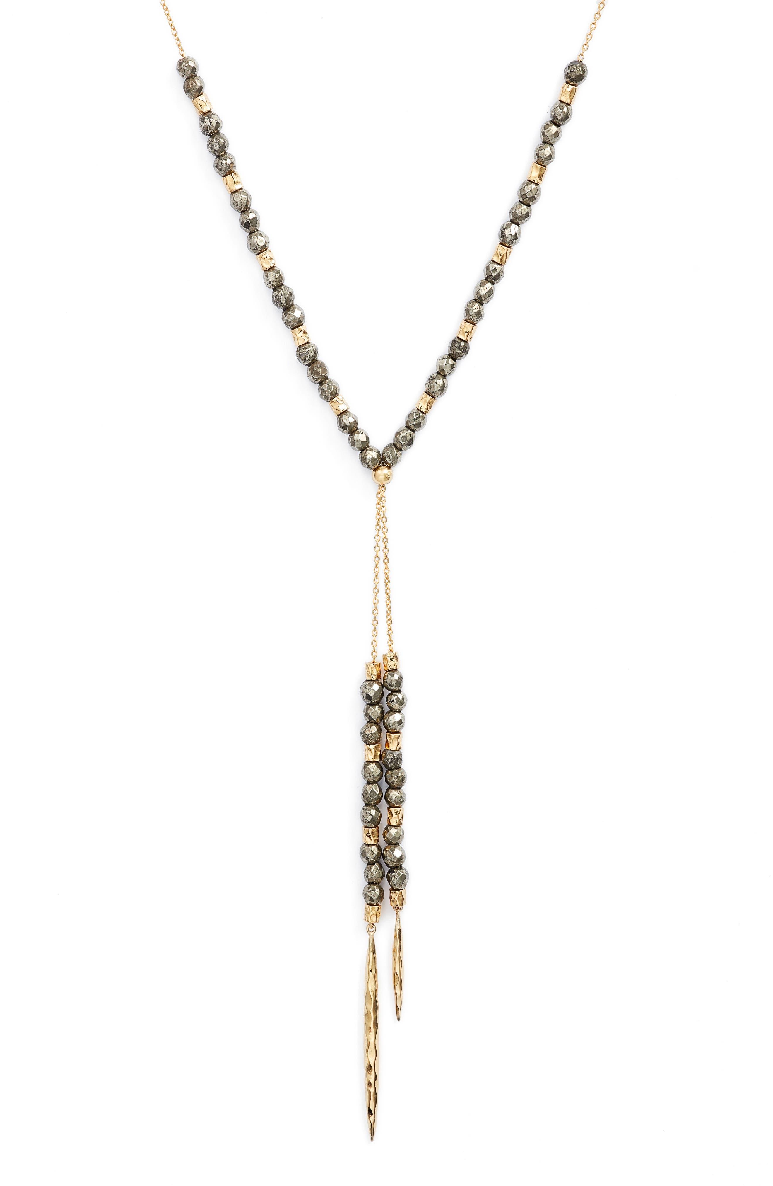 Alternate Image 2  - gorjana Power Stone Semiprecious Stone Necklace