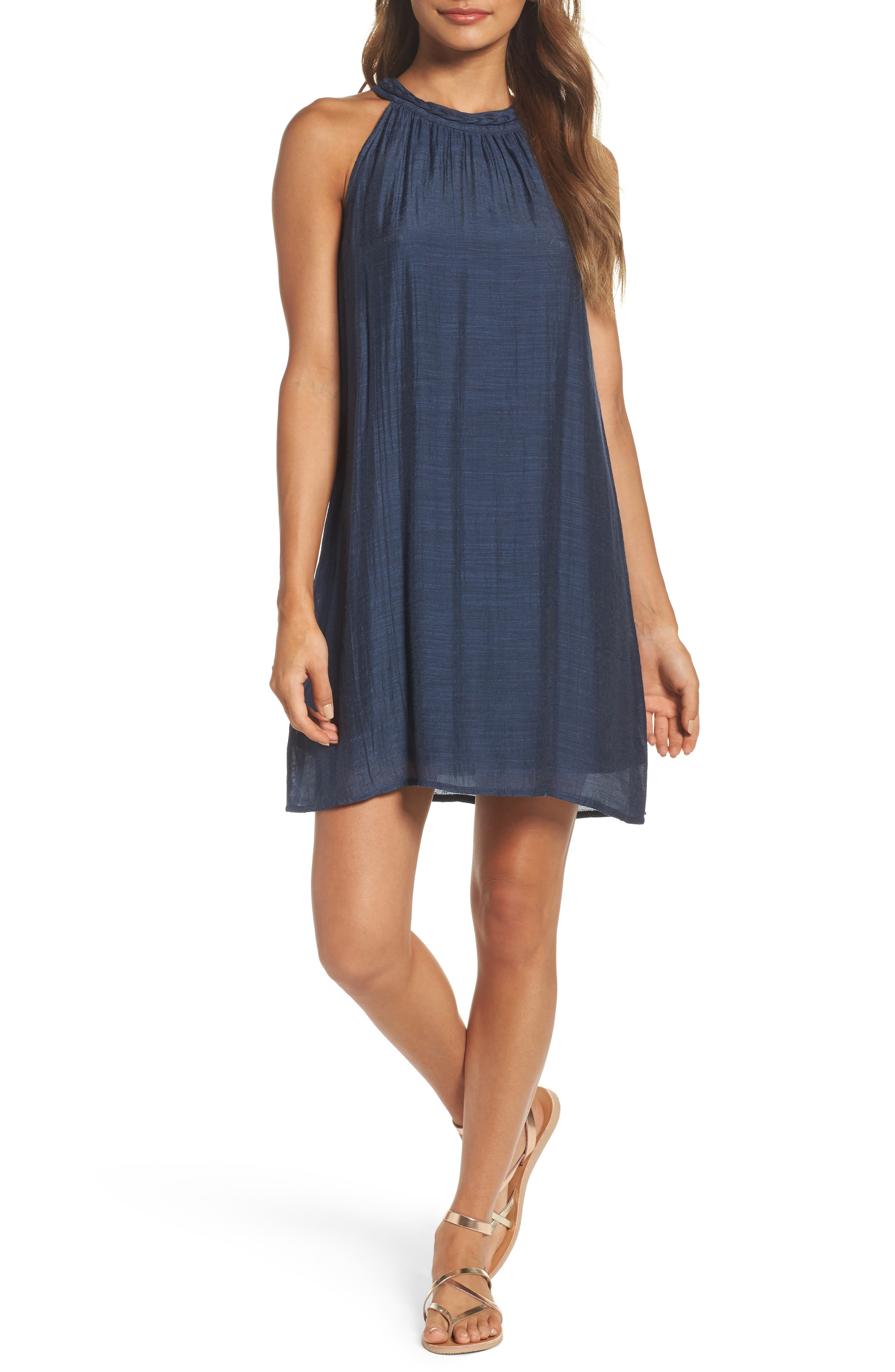 THML Chambray Halter Dress