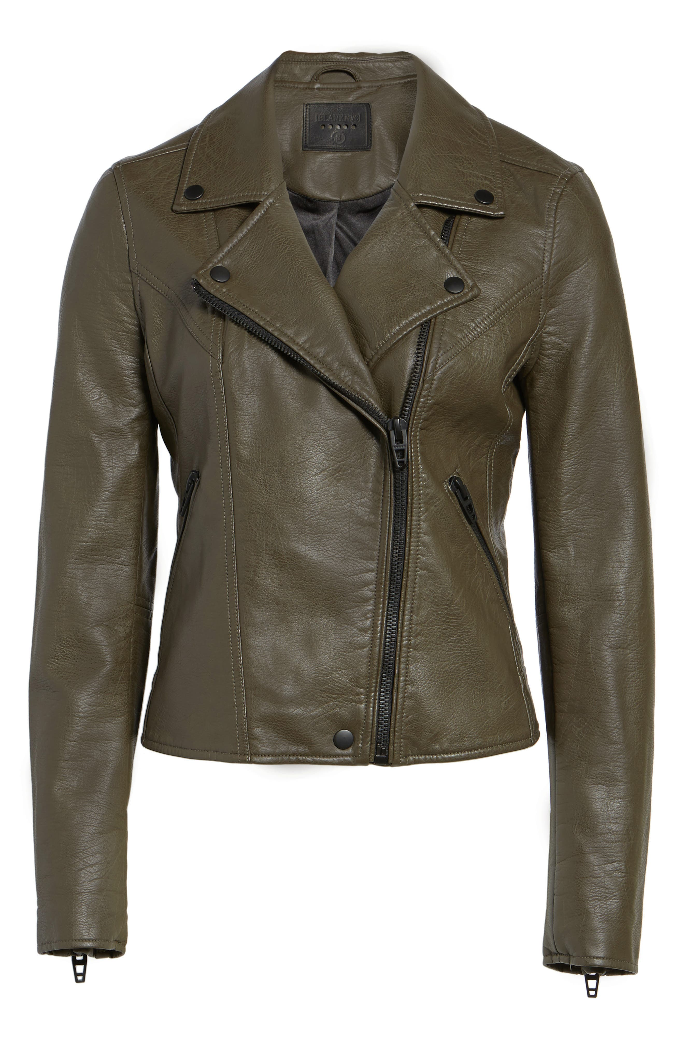 Alternate Image 6  - BLANKNYC Life Changer Moto Jacket