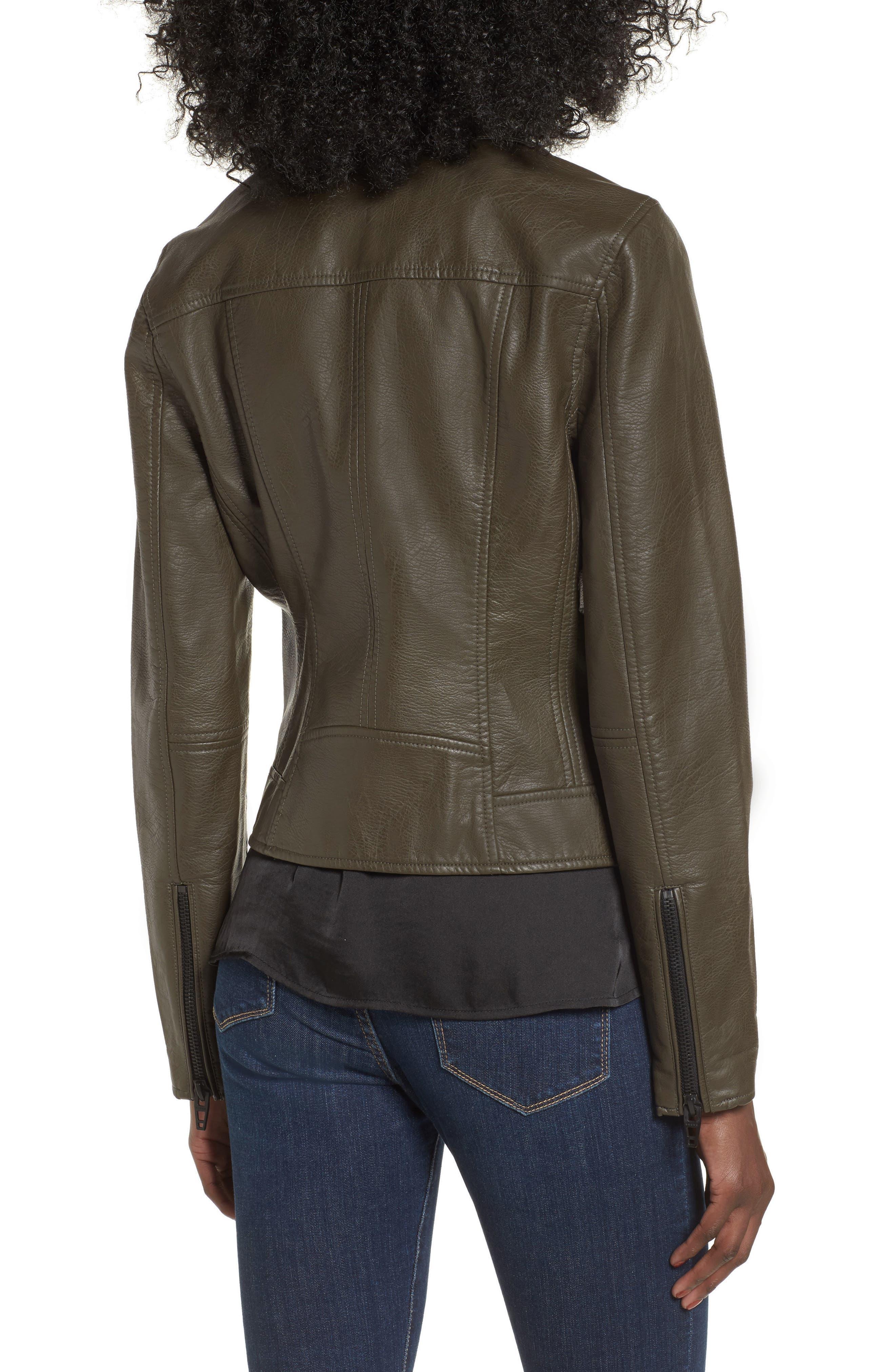 Alternate Image 2  - BLANKNYC Life Changer Moto Jacket