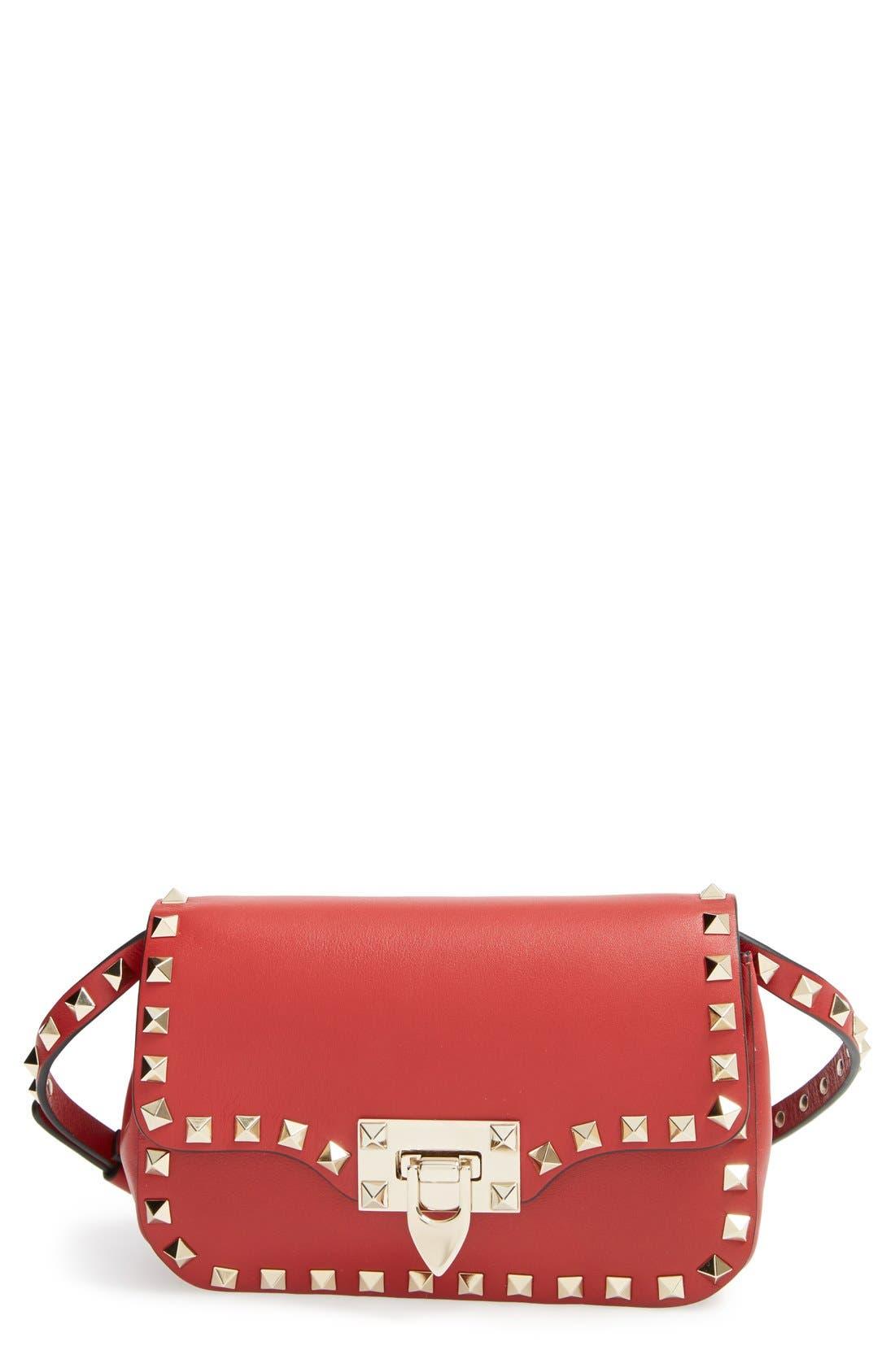 Main Image - Valentino 'Mini Rockstud' Crossbody Bag