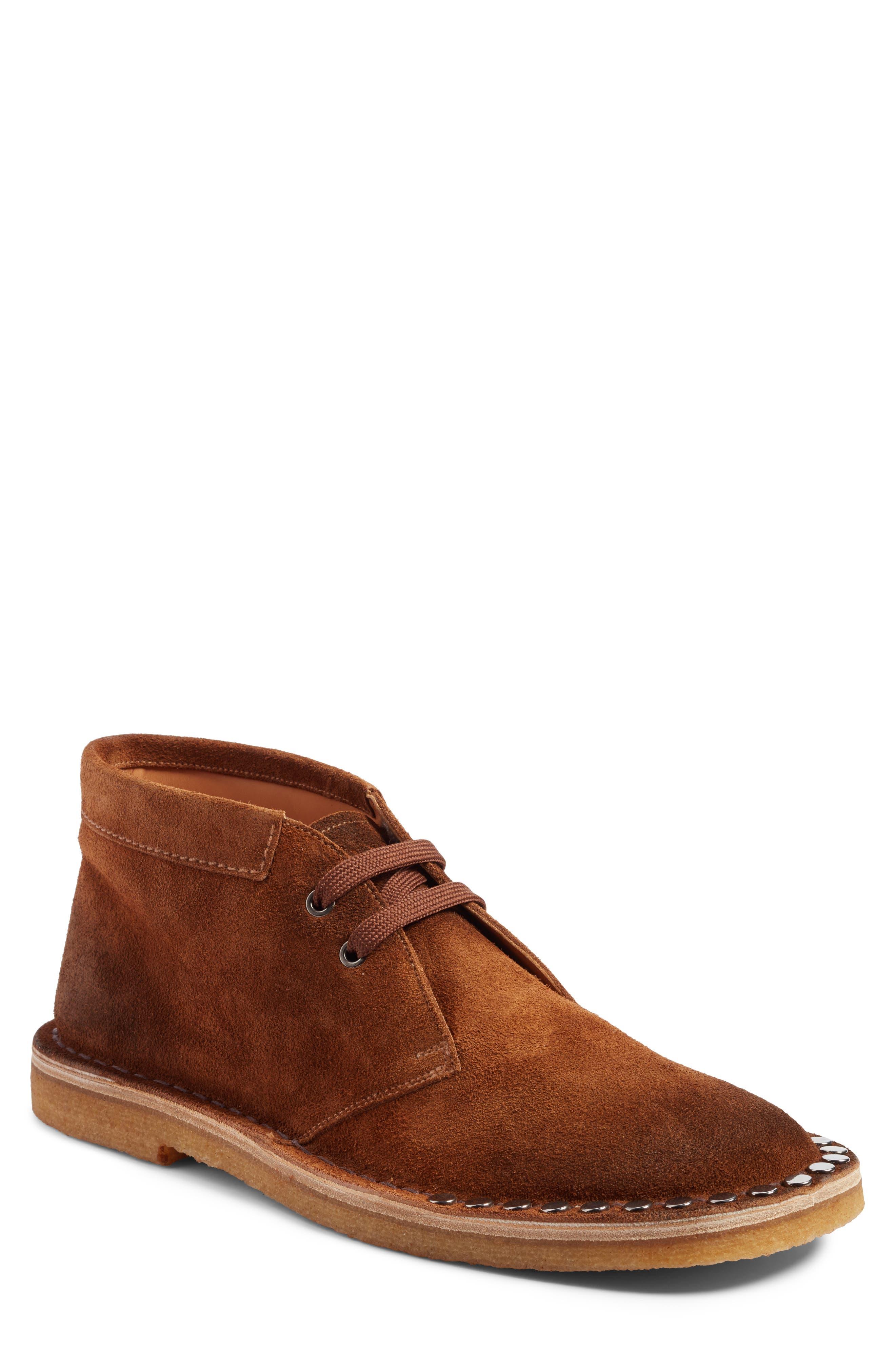 Prada Studded Chukka Boot (Men)