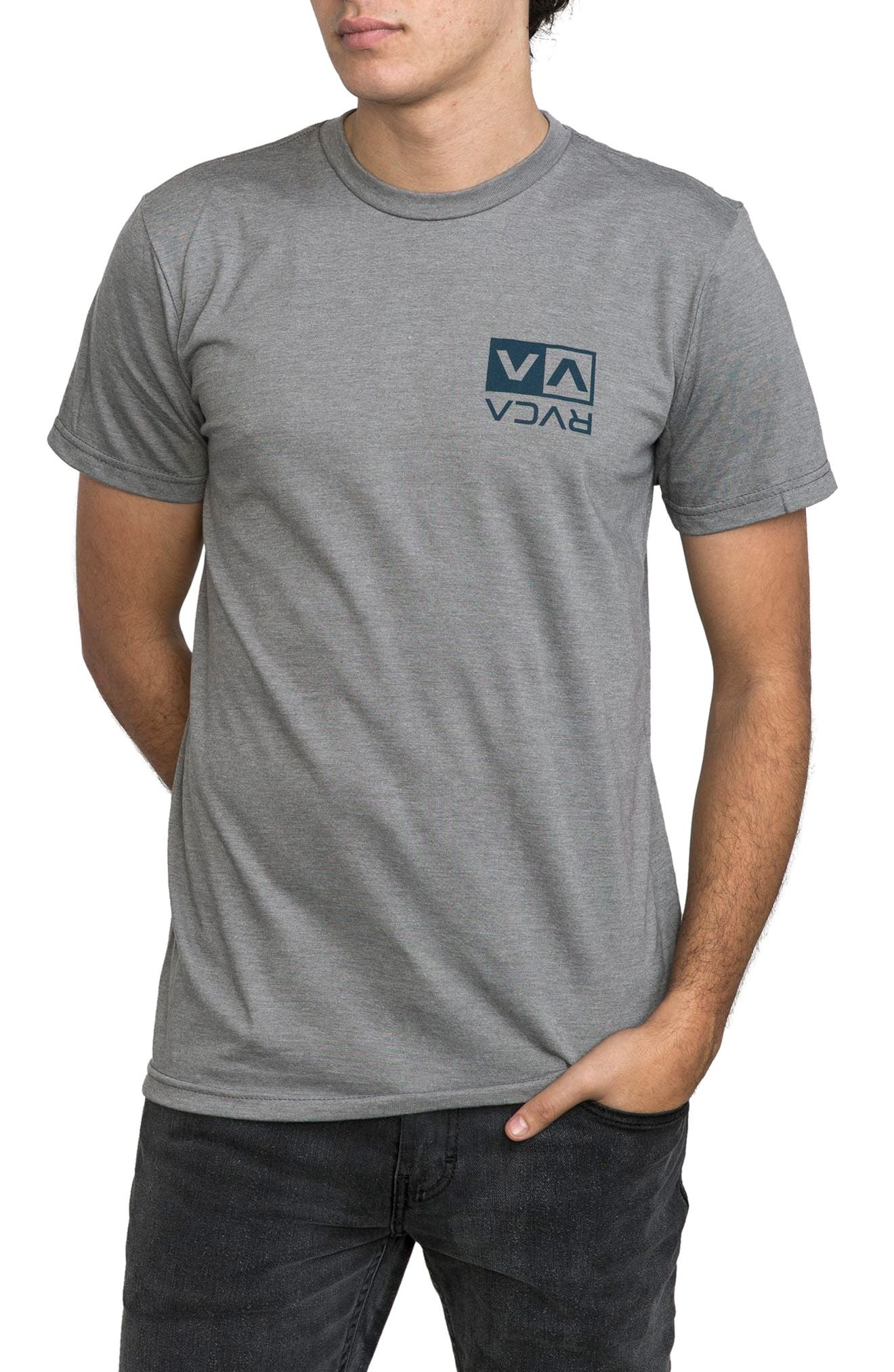 RVCA Electro Flipped Box Graphic T-Shirt