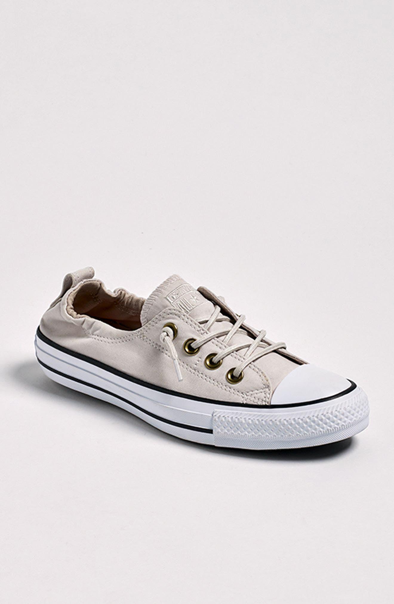 Alternate Image 7  - Converse Chuck Taylor® All Star® Shoreline Peached Twill Sneaker (Women)