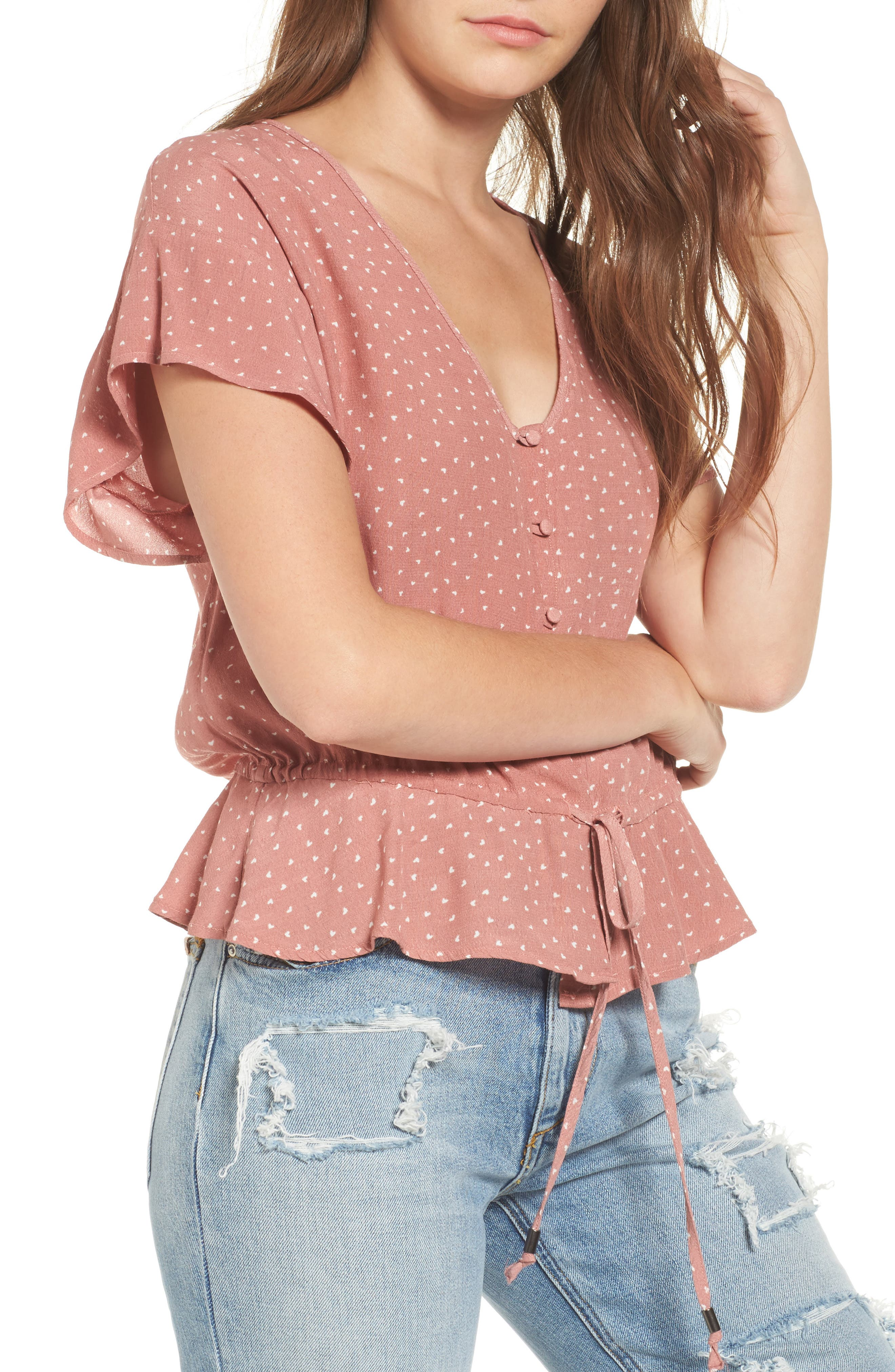 Rails Bretton Button Down Top