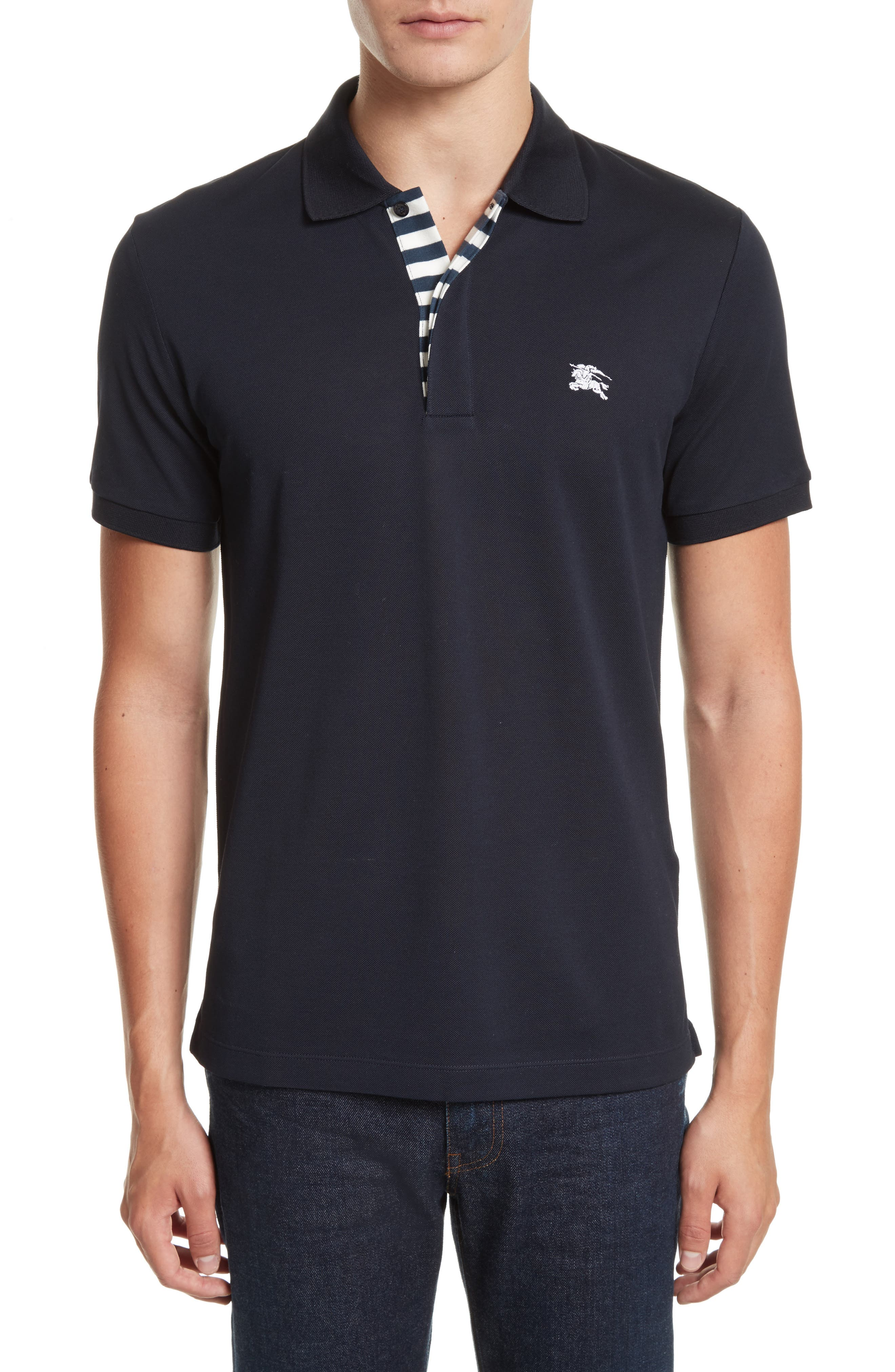 Burberry Aldford Slim Fit Polo