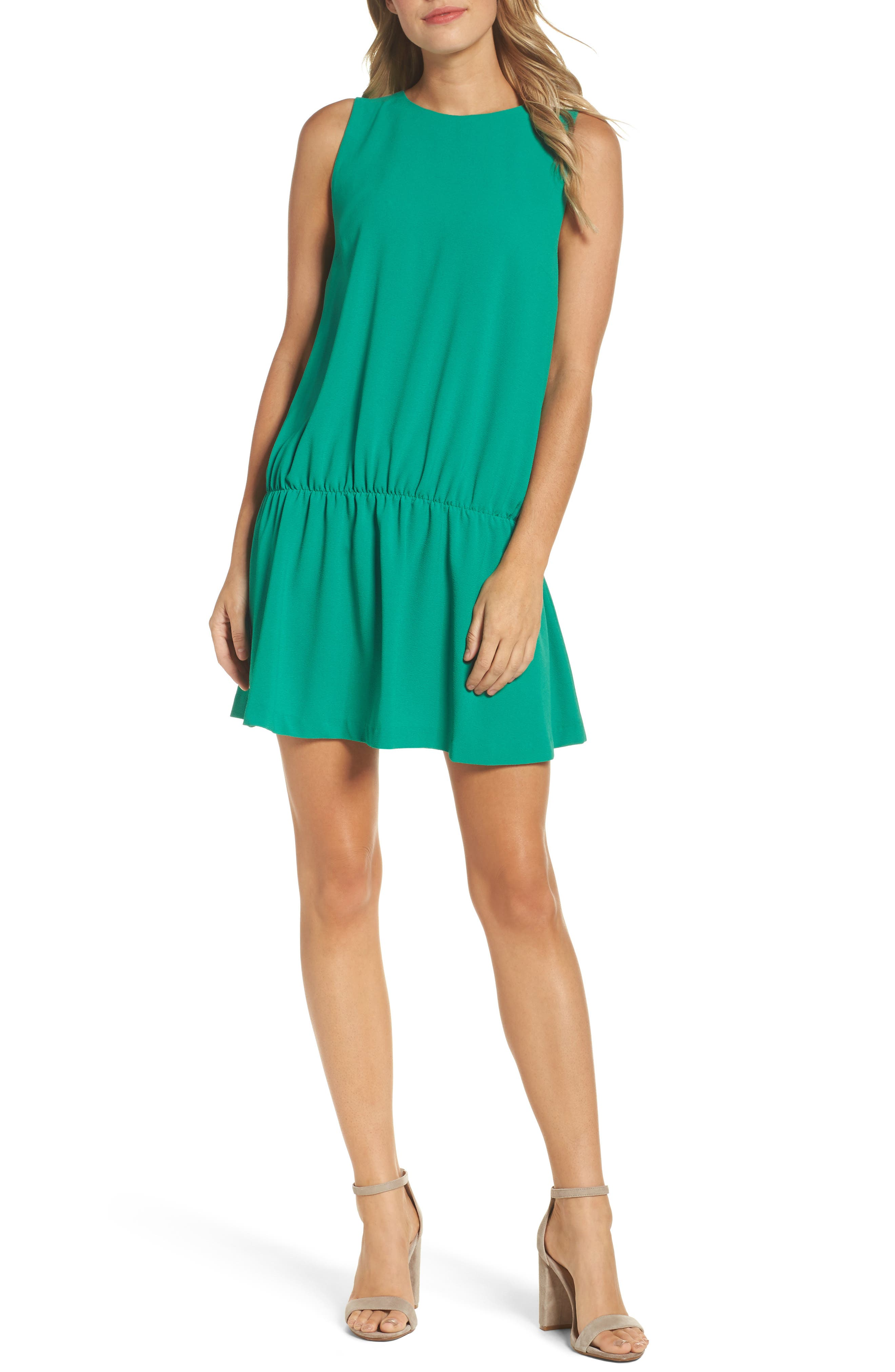 Felicity & Coco Dropped Waist Minidress (Nordstrom Exclusive)