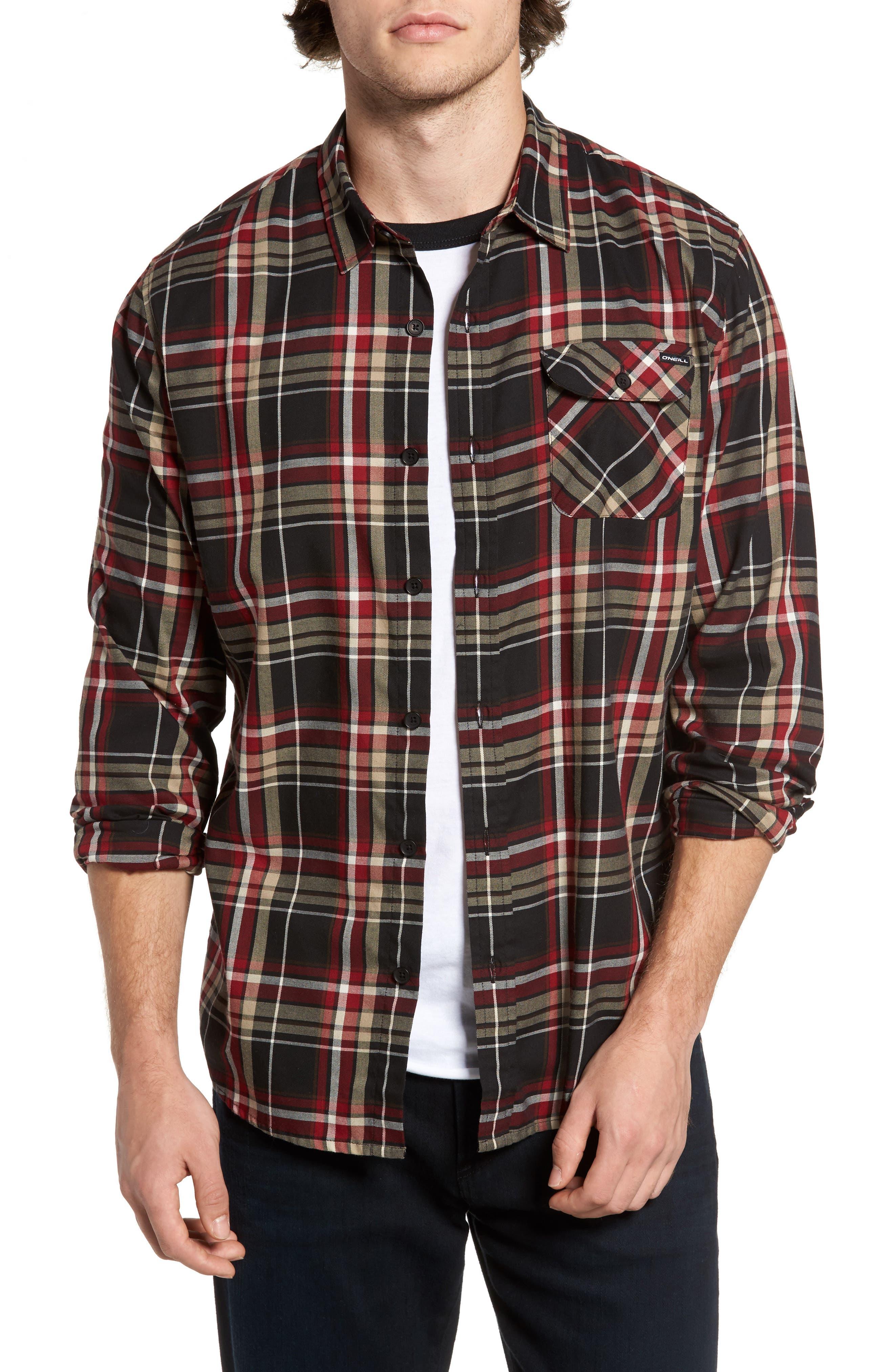 O'Neill Olson Plaid Twill Shirt