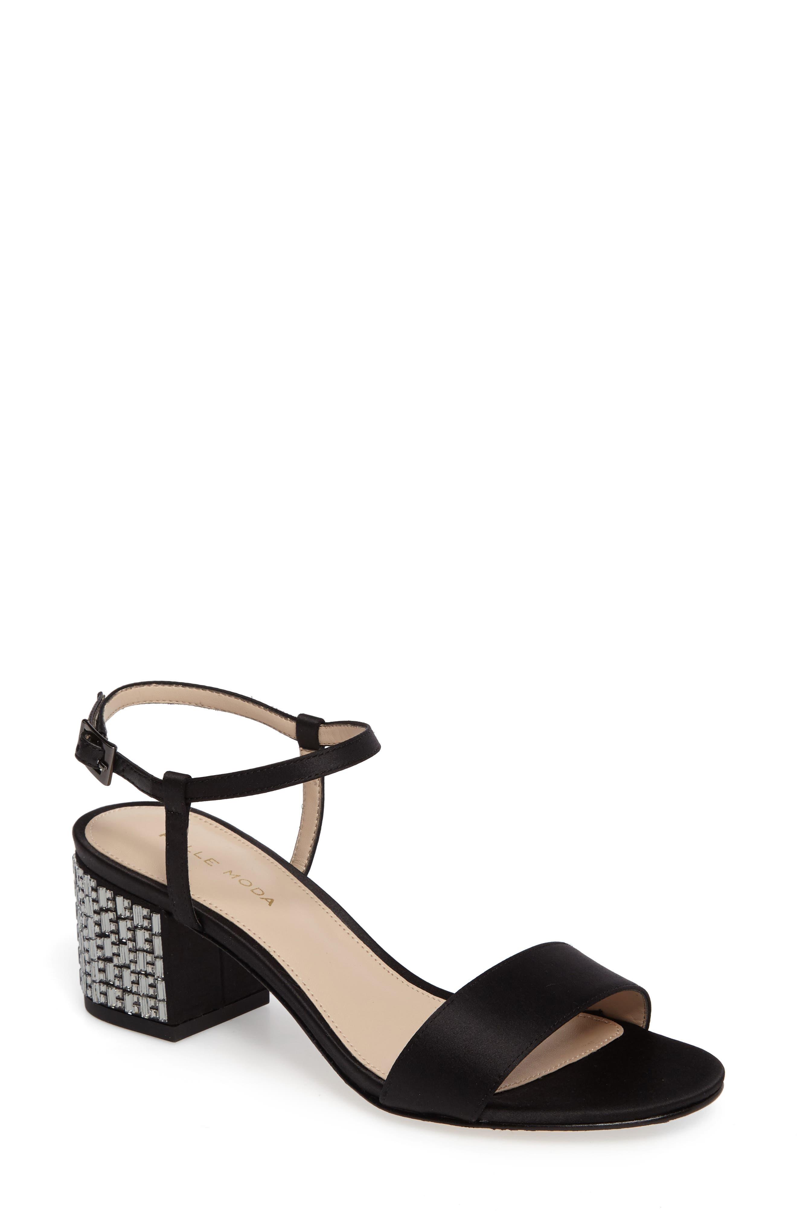 Pelle Moda Alicia Block Heel Sandal (Women)