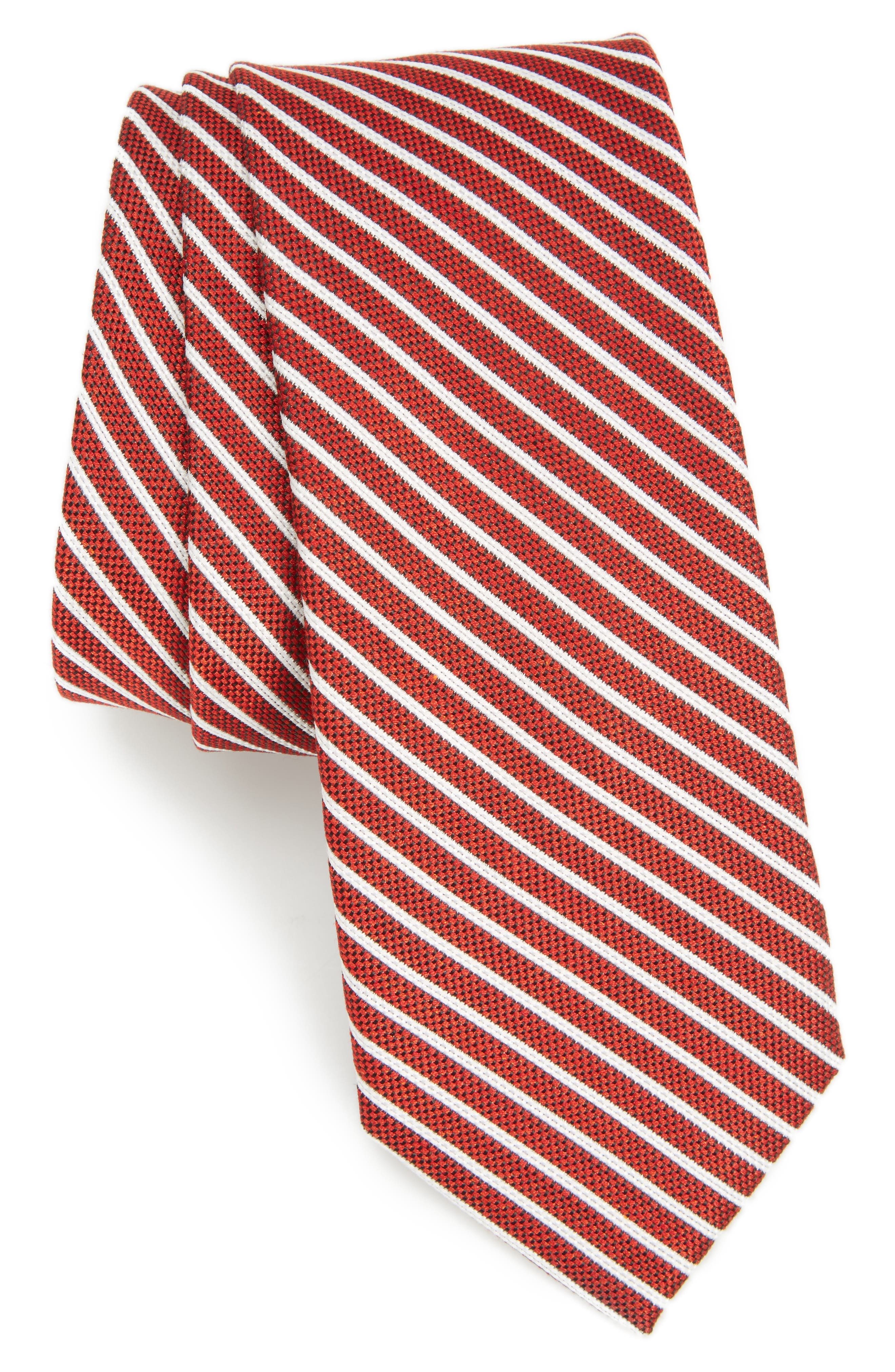 Nordstrom Men's Shop Annadel Stripe Skinny Tie