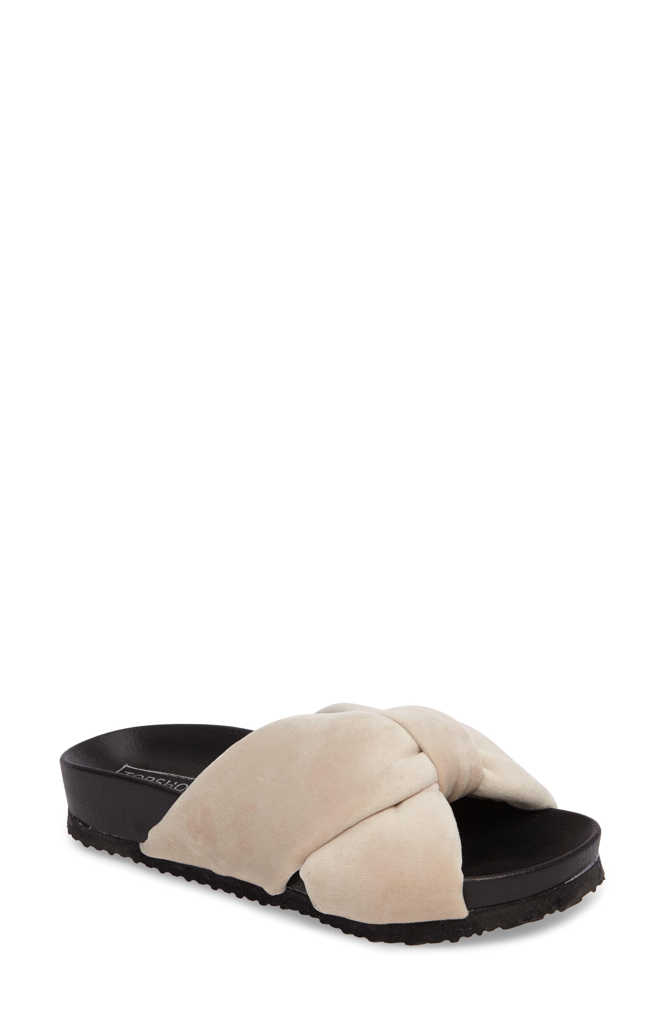 Topshop Fly Knot Slide Sandal (Women)