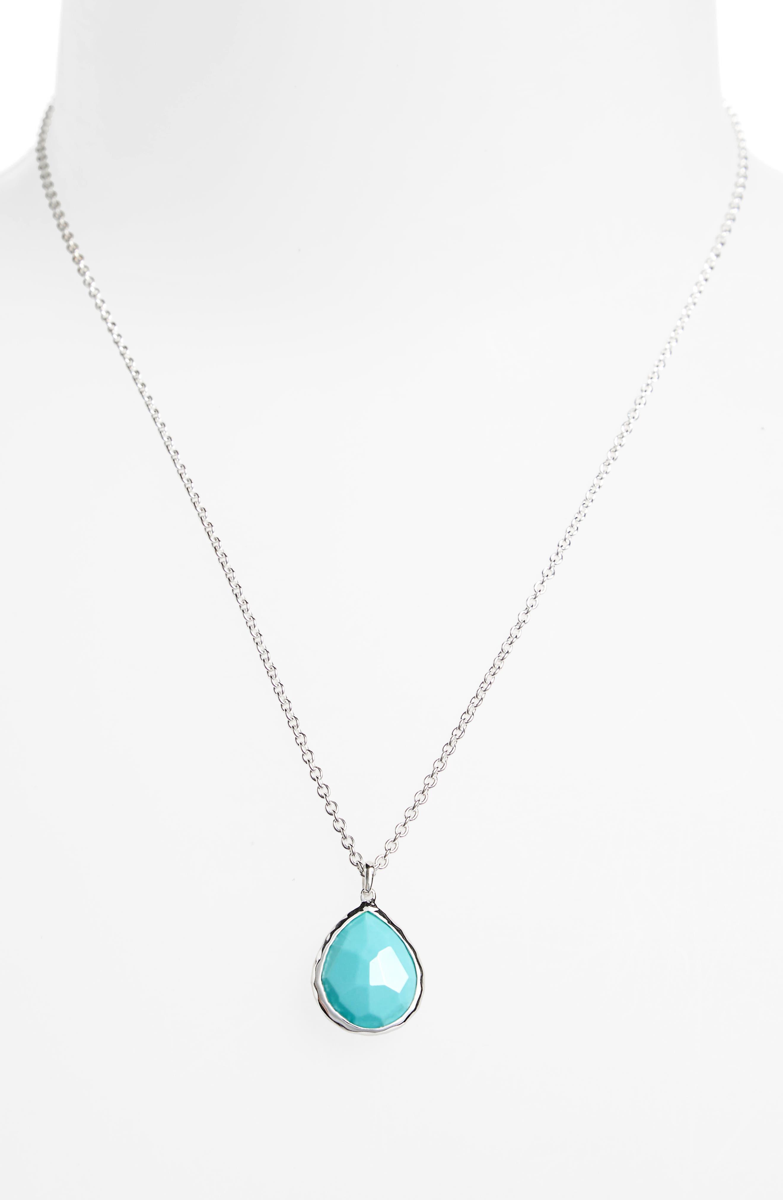 Alternate Image 2  - Ippolita 'Wonderland' Mini Teardrop Pendant Necklace (Online Only)