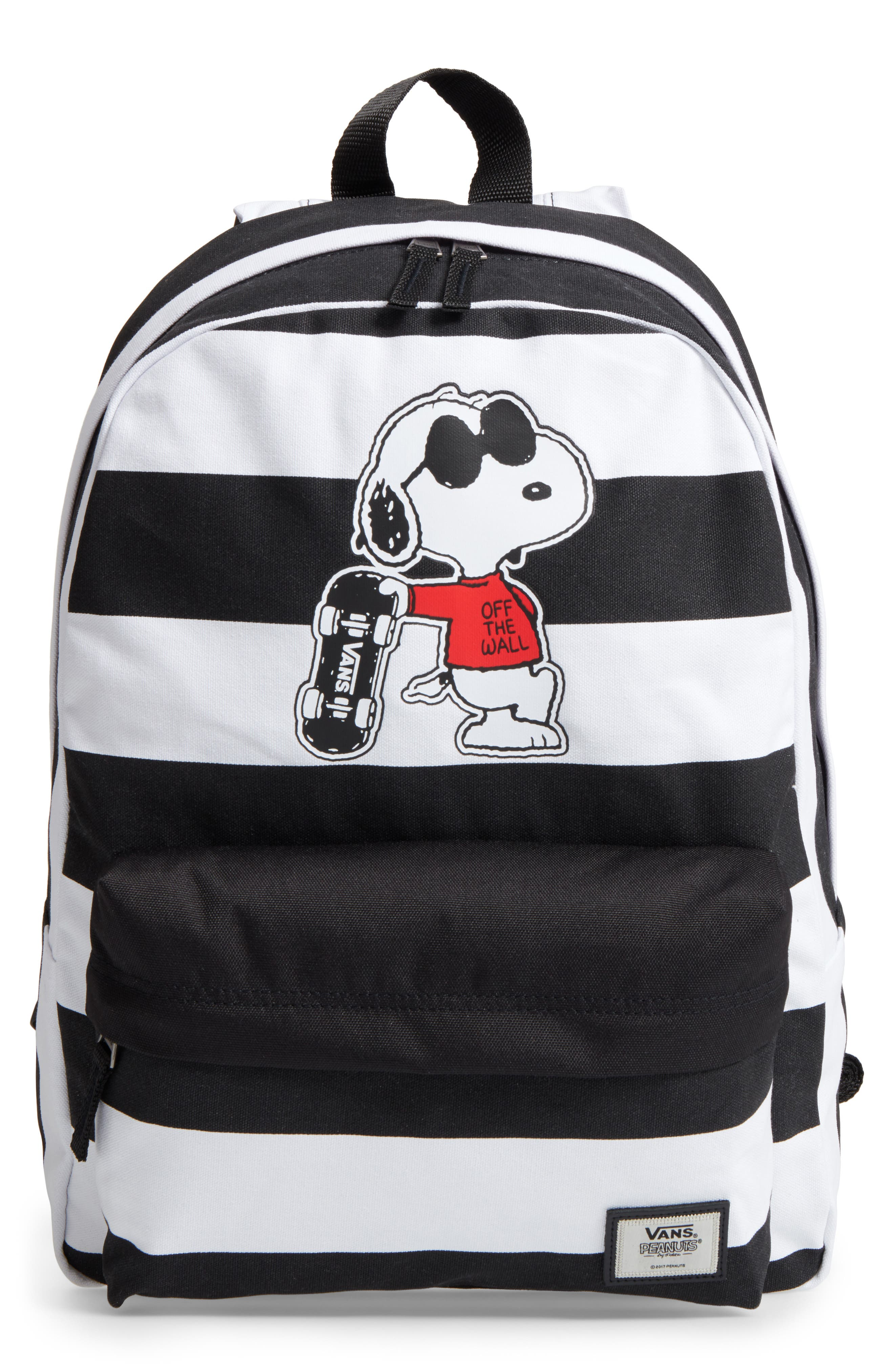 Vans x Peanuts® Realm - Joe Cool Snoopy Backpack (Kids)