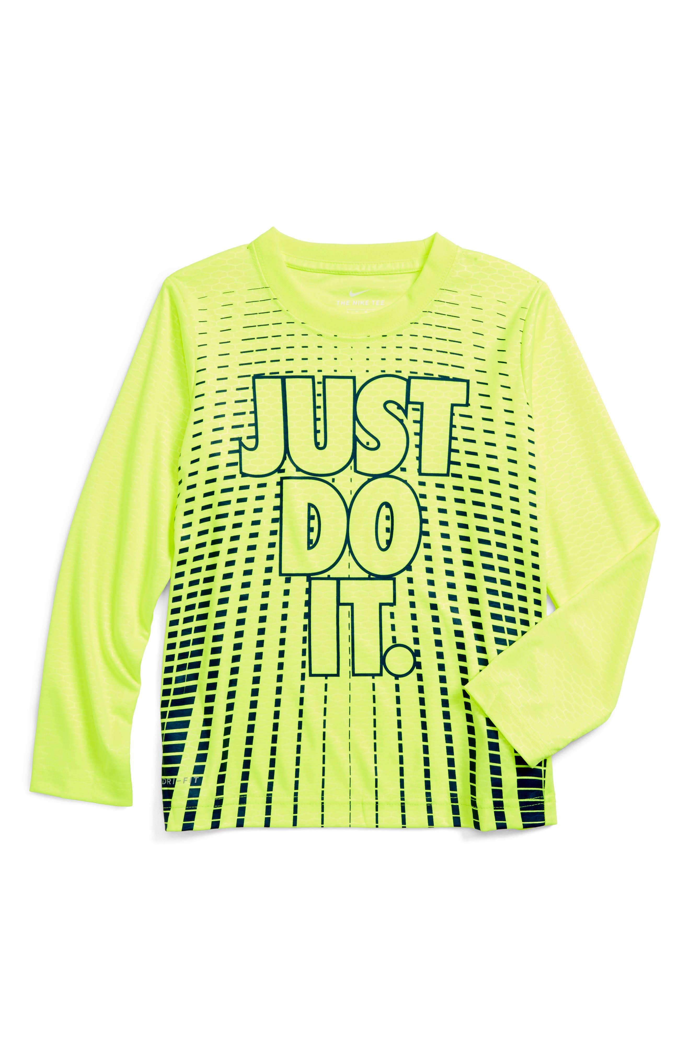 Nike Staggered Line Dri-FIT T-Shirt (Toddler Boys & Little Boys)