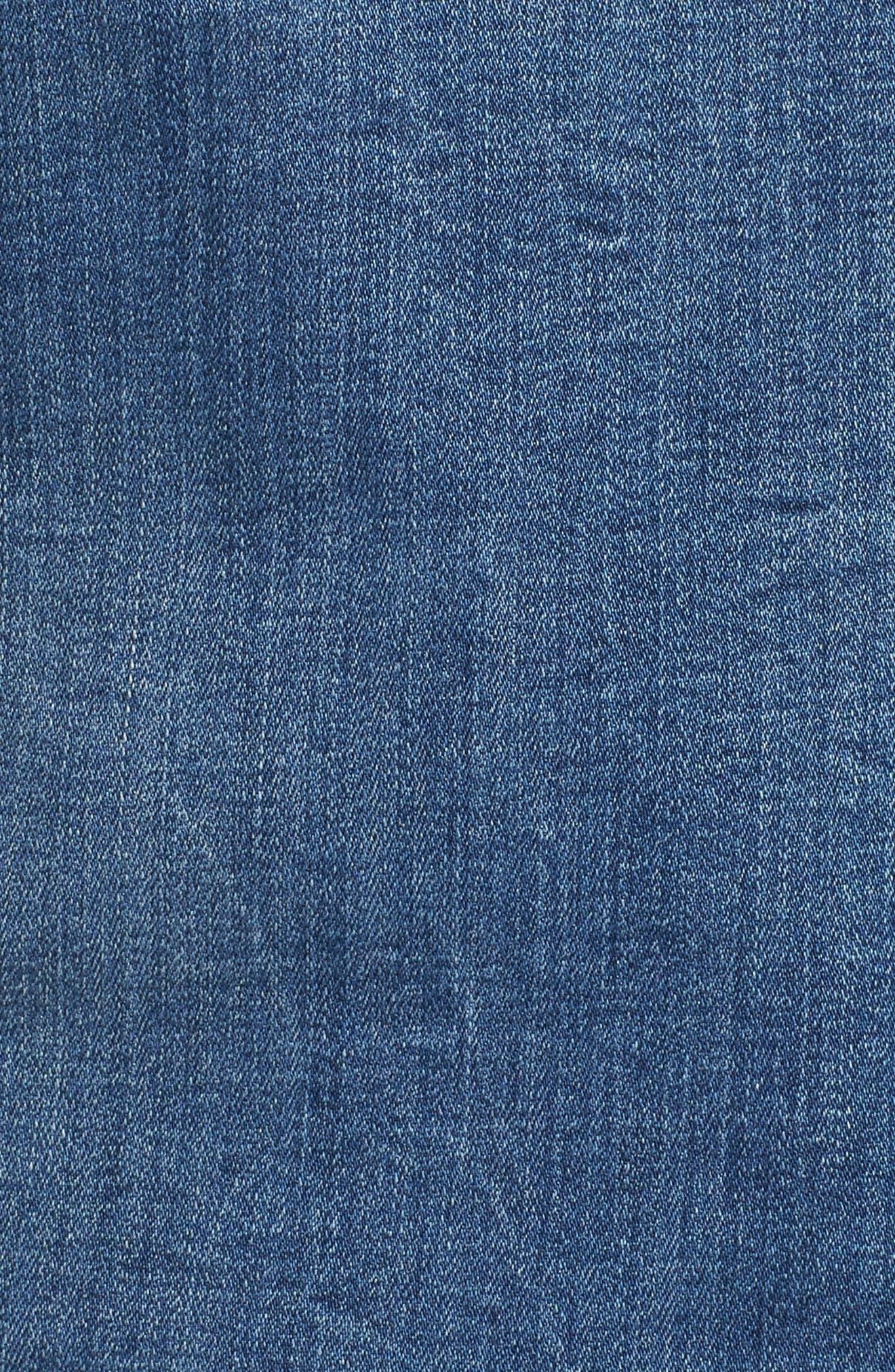 Alternate Image 6  - REBEL WILSON X ANGELS Just Fan Me Denim Jacket (Plus Size)