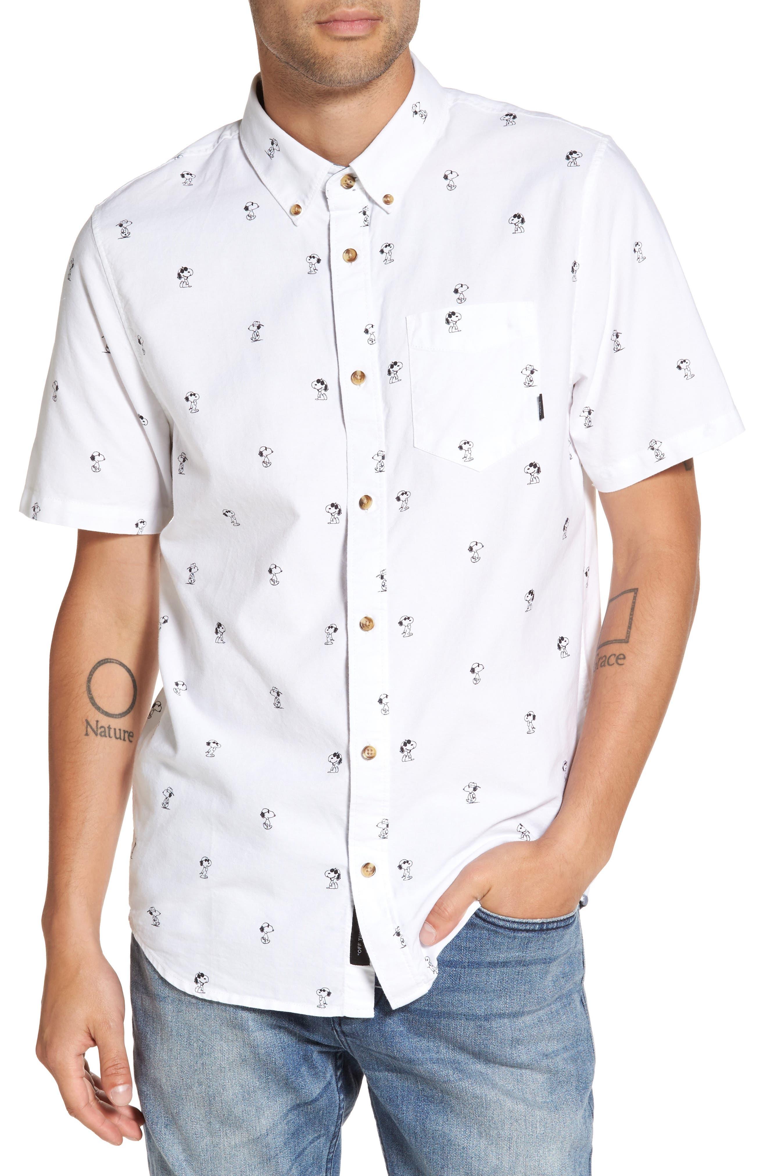 Vans x Peanuts Houser Snoopy Print Woven Shirt