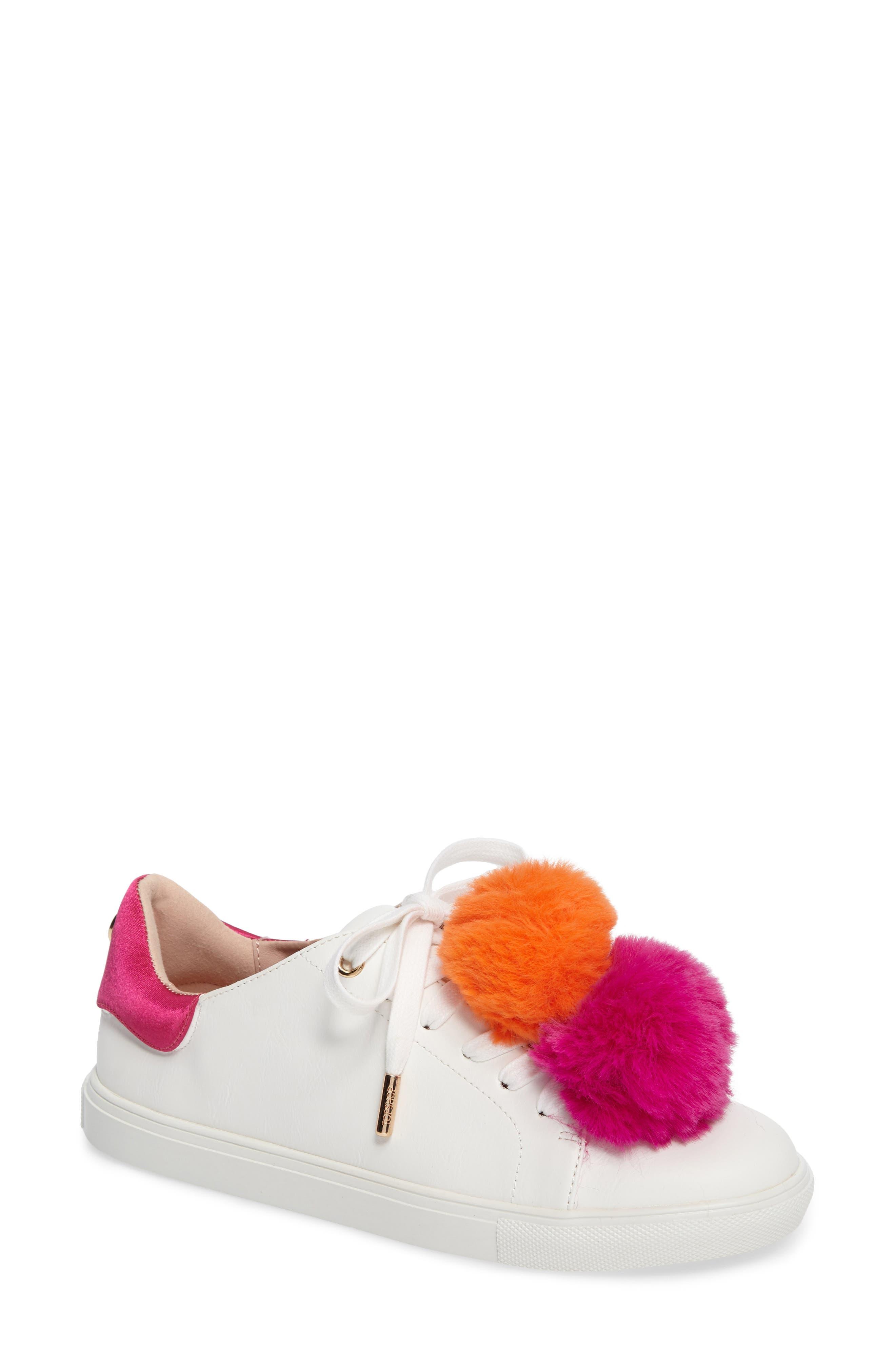 Topshop Captive Pompom Sneaker (Women)