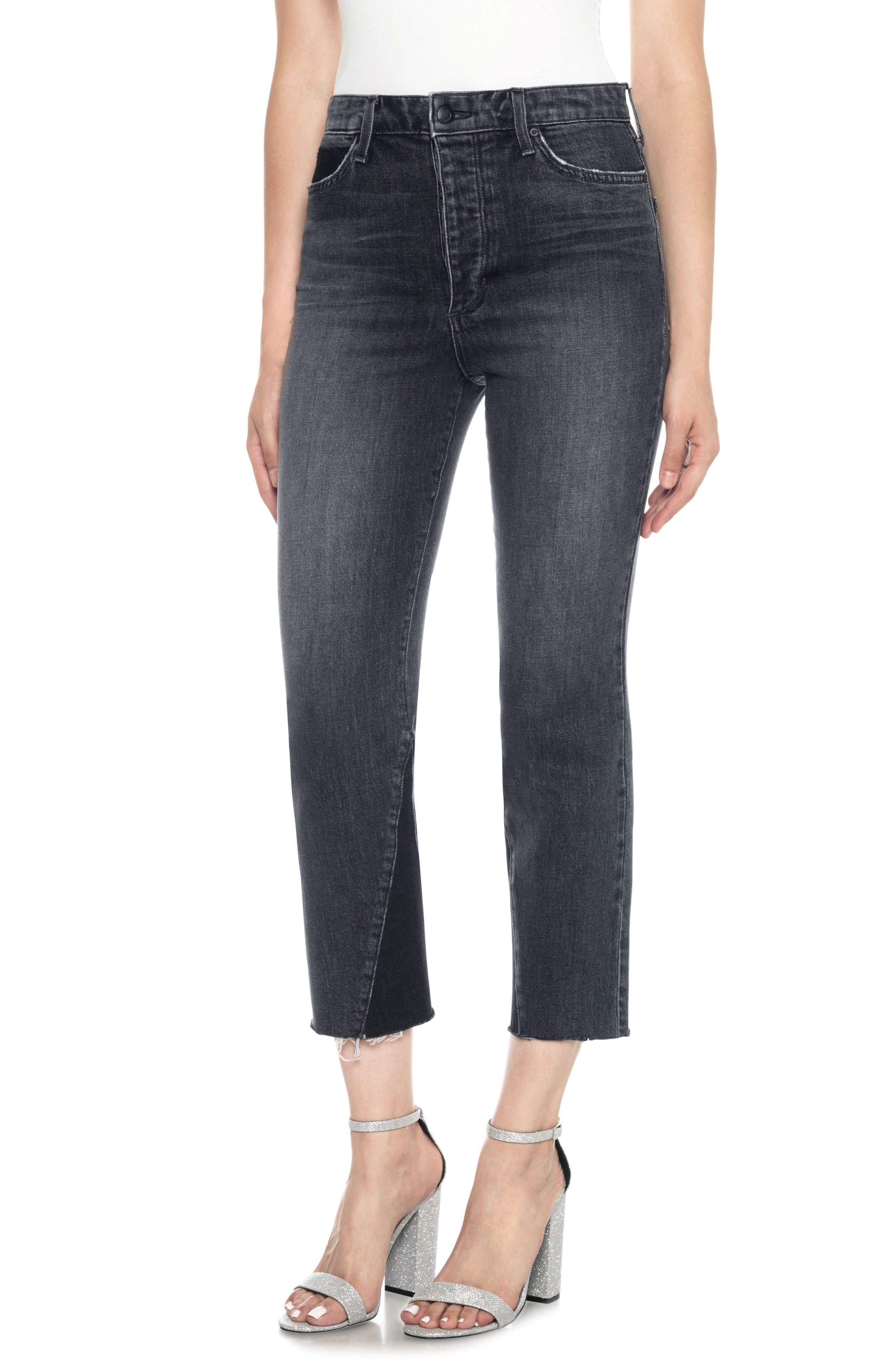 Joe's Debbie High Waist Crop Jeans (Kirby)